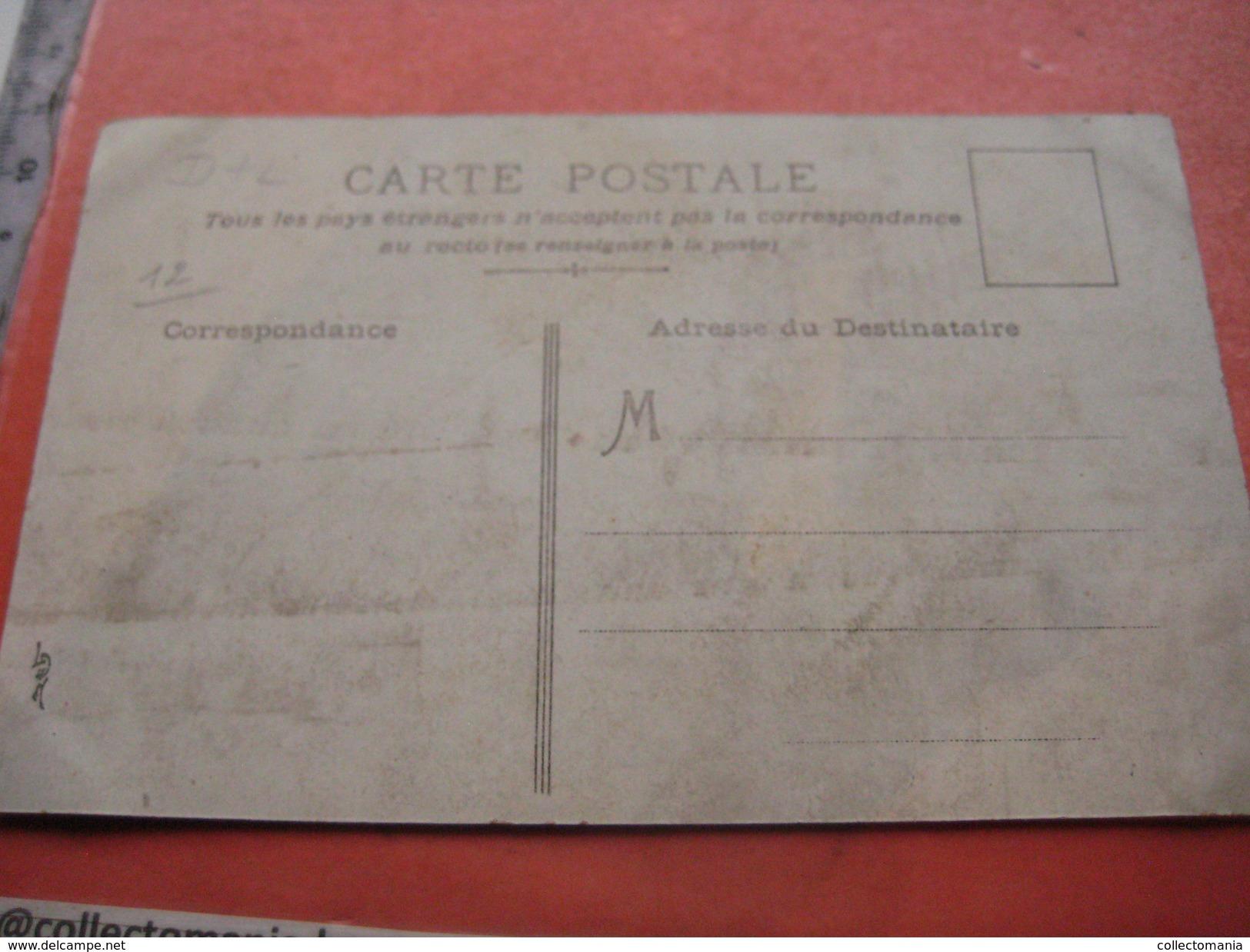 1 Postcard Paris, Police, Carosses - A PLIER SUR LES TRAITS - Mechanical Card ( To Be Plead To Be Standing Up) L. D. H. - Humour