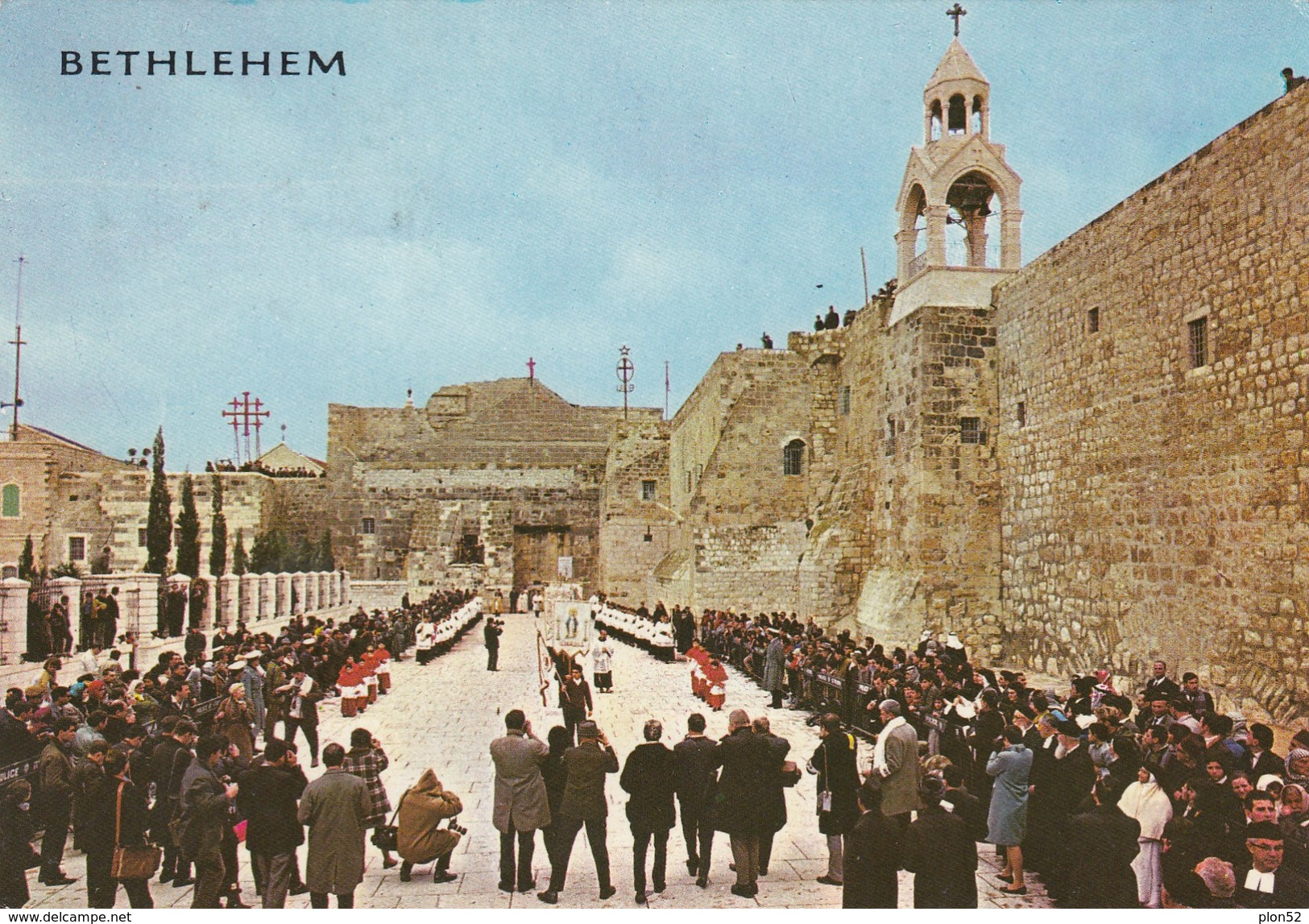 11289-BETHLEHEM-CHURCH OF NATIVITY AT CHRISTMAS PROCESSION-FG - Palestina