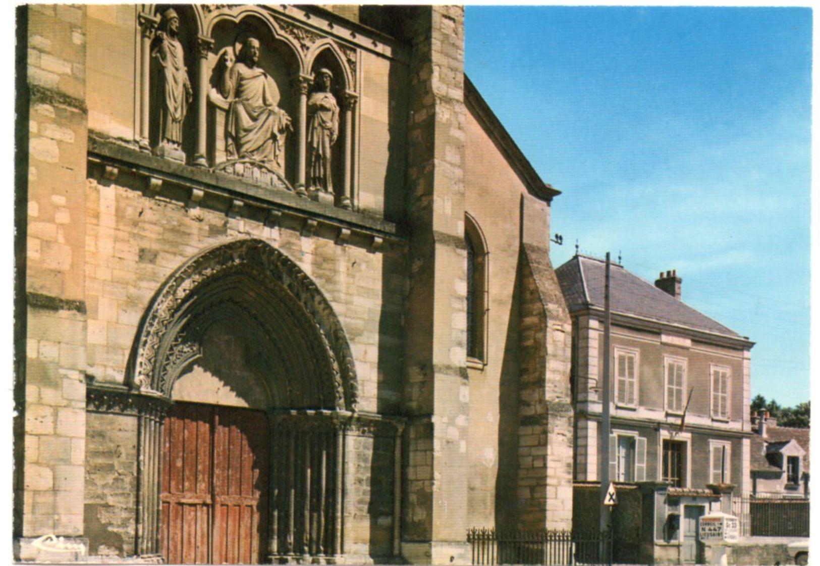 Essonne - SAINT-GERMAIN-lès-CORBEIL - Le Porche De L'Eglise - La Mairie - Ed. Jan - France