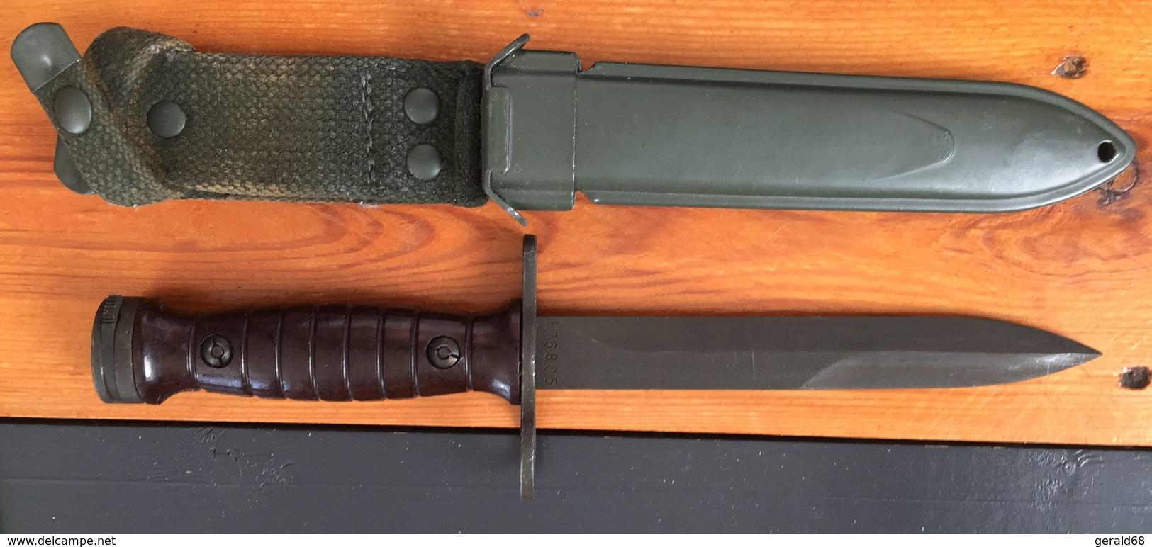 Baïonnette Italienne Pour Fusil Beretta BM59 - Armes Blanches