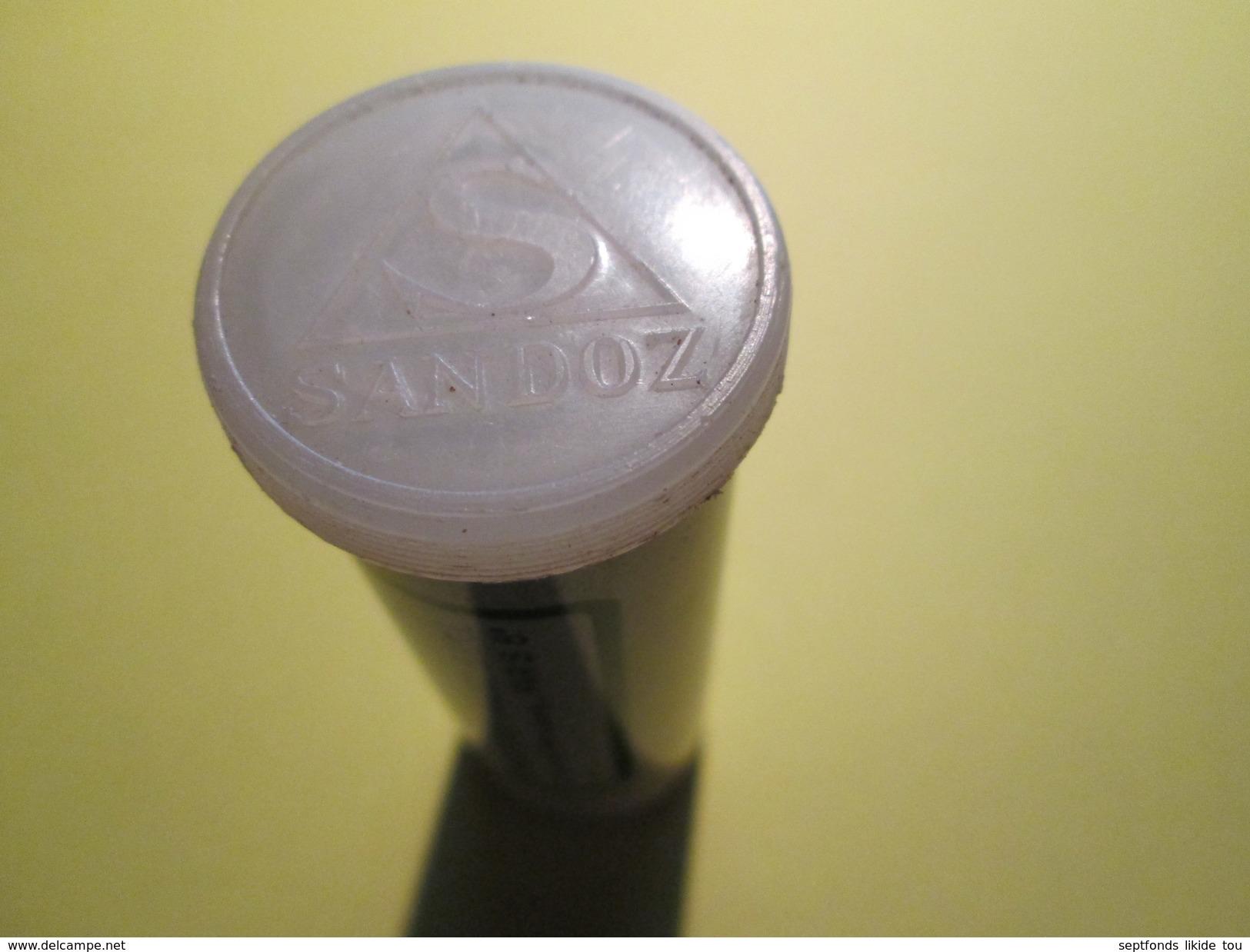 """BOITE EN FER """"SEDANTOÏNAL""""  Laboratoire Sandoz 7 Cm De Haut (plusieurs Scans) - Dozen"""