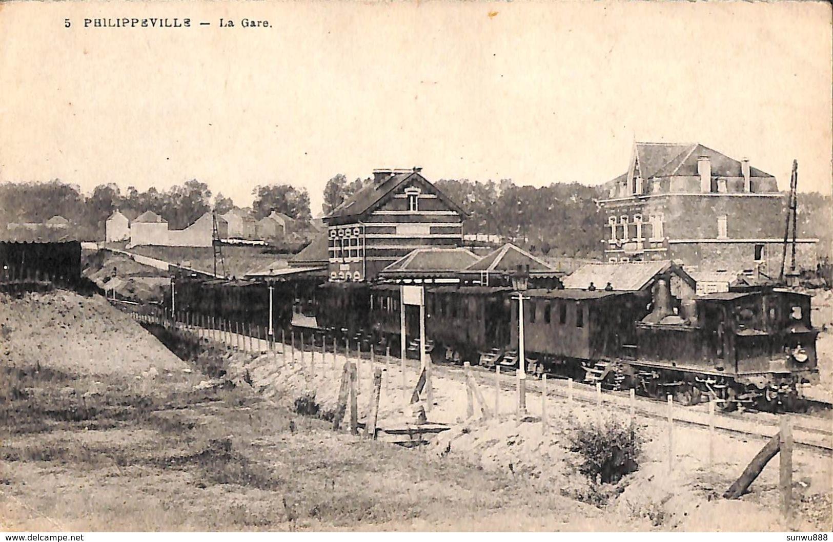 Philippeville - La Gare (train, Desaix) - Philippeville