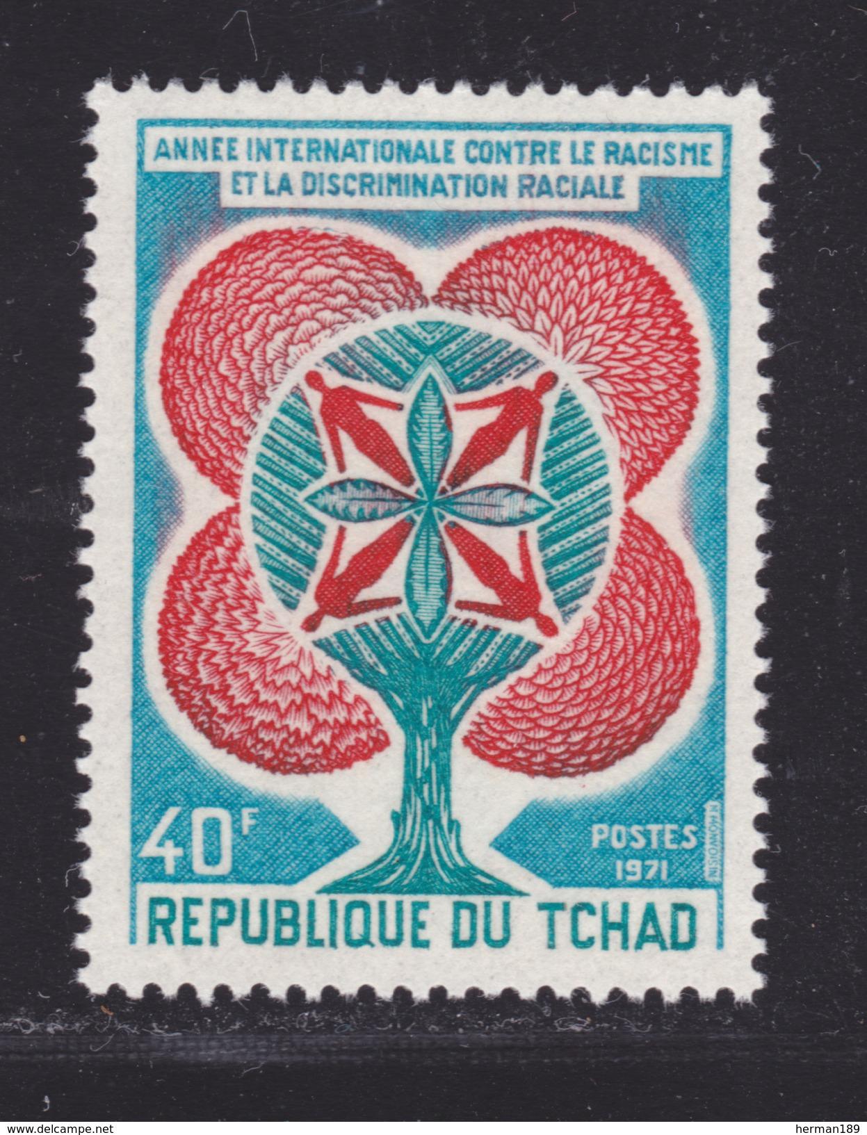 TCHAD N°  234 ** MNH Neuf Sans Charnière, TB  (D3320) Lutte Contre Le Racisme - Chad (1960-...)