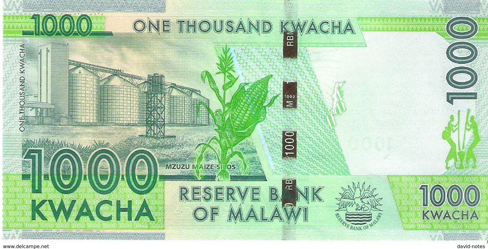 Malawi - Pick 67b - 1000 Kwacha 2016 - Unc - Malawi