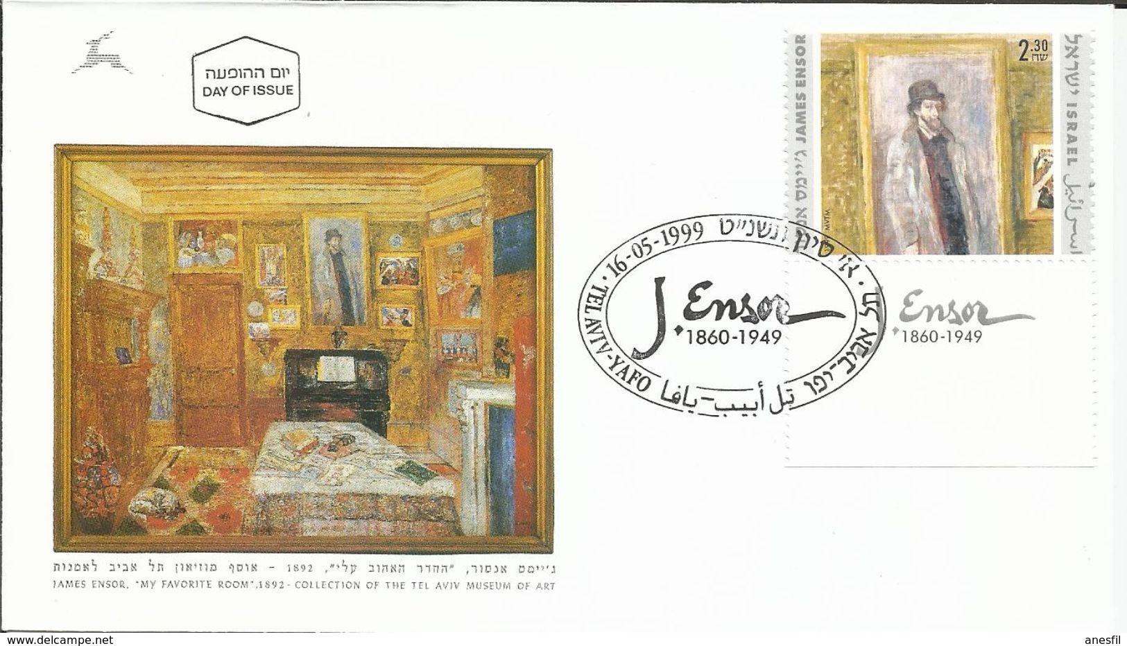 Pintor James Ensor.  (Pintura) - Profesiones
