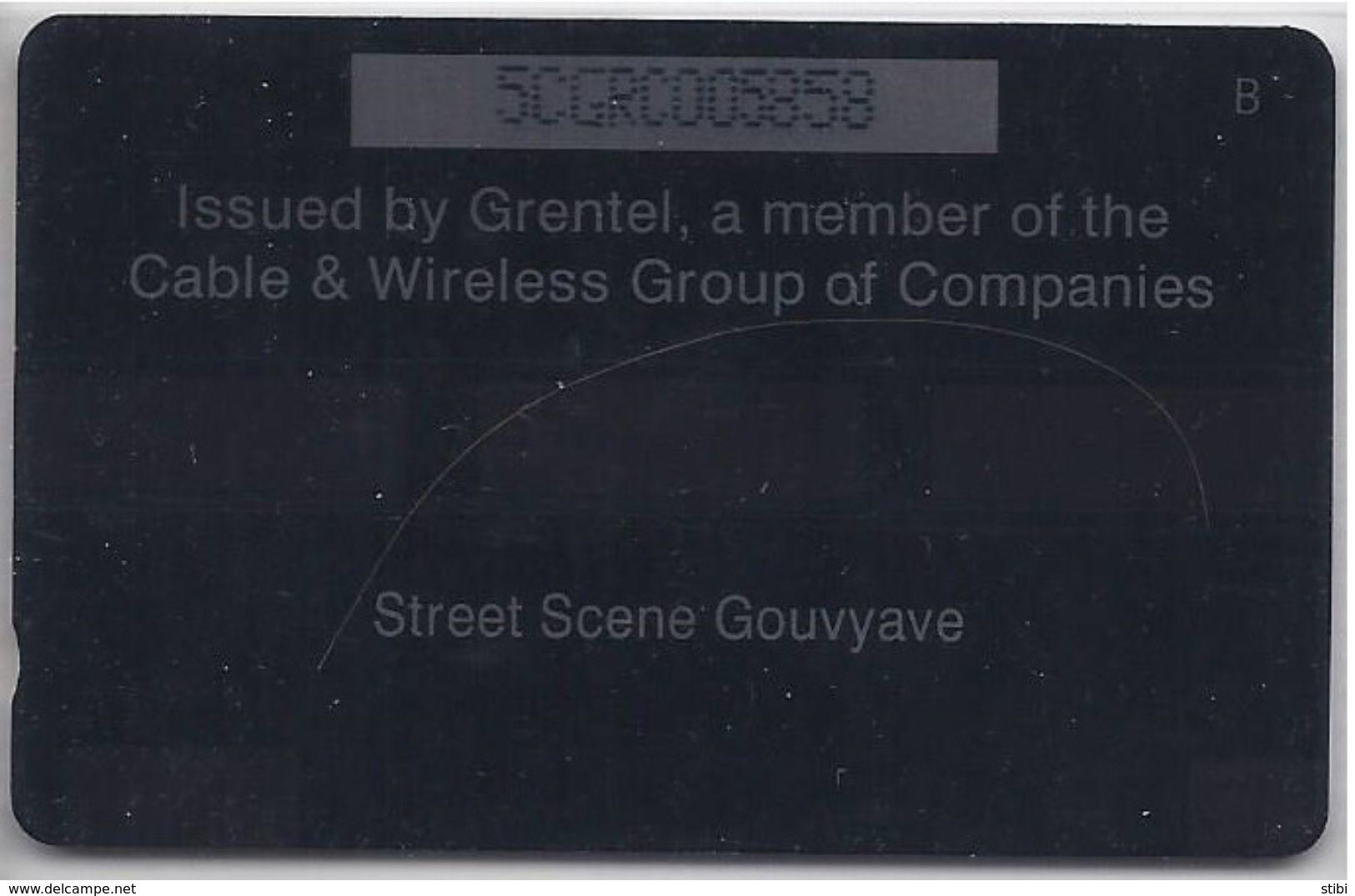 GRENADA - STREET SCENE GOUVYAVE - 5CGRC - Grenada