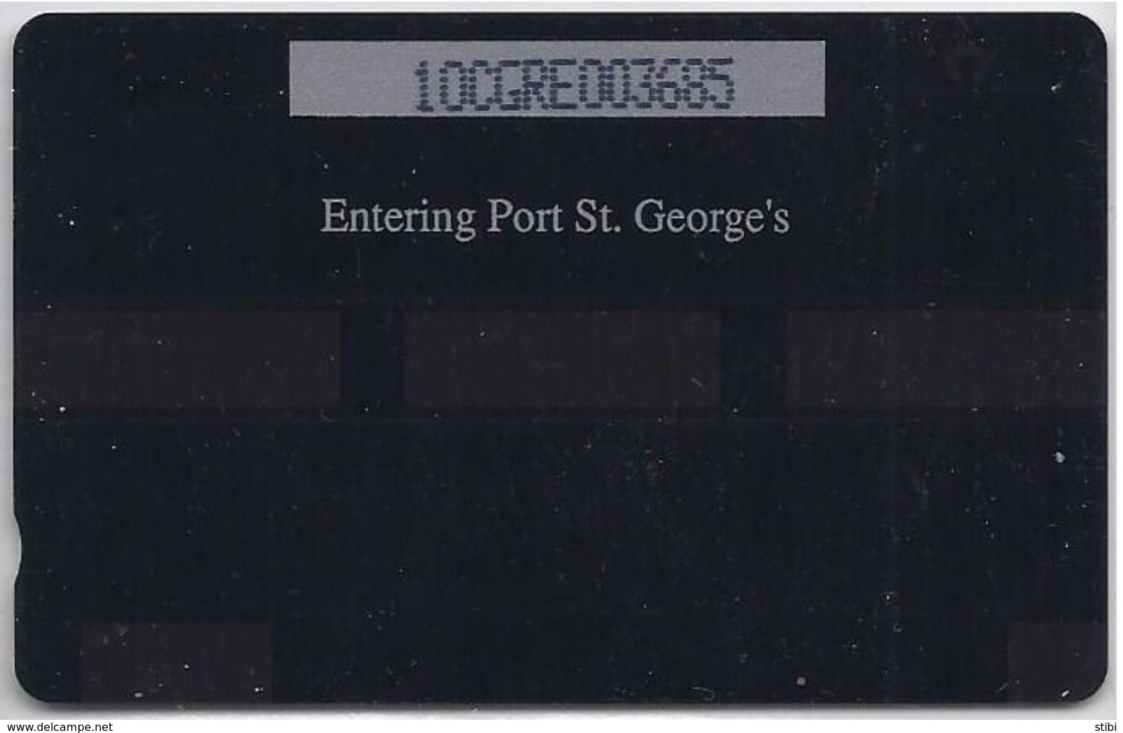 GRENADA - ENTERING PORT ST GEORGE'S - 10CGRE - Grenada