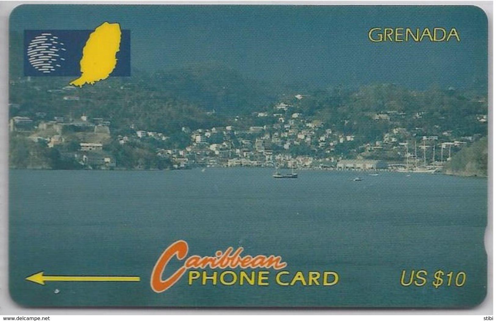 GRENADA - ENTERING PORT ST GEORGE'S - 7CGRA - Grenada