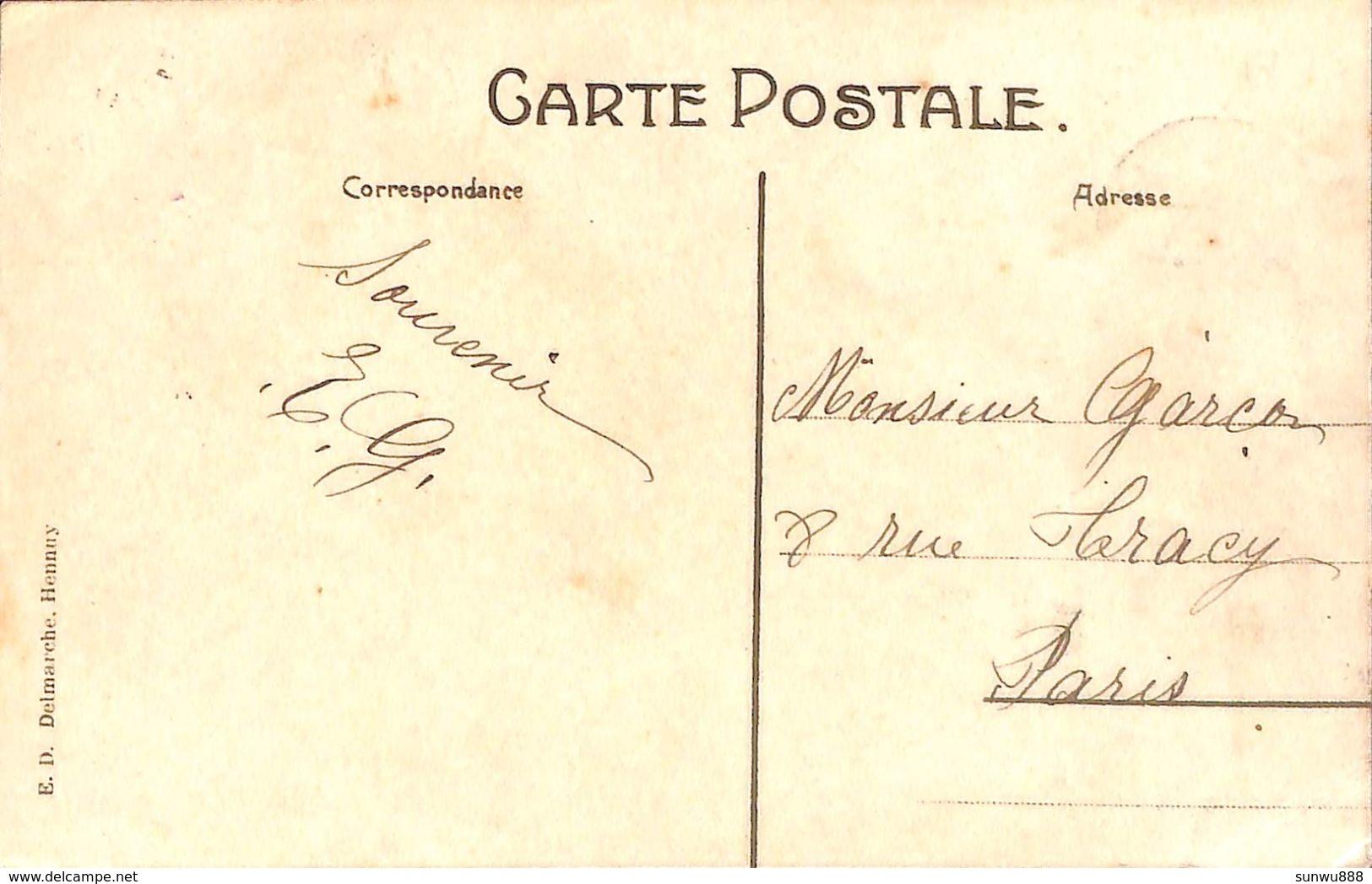 Station De Berzée (animée, E D Delmarche Hennuy) - Walcourt