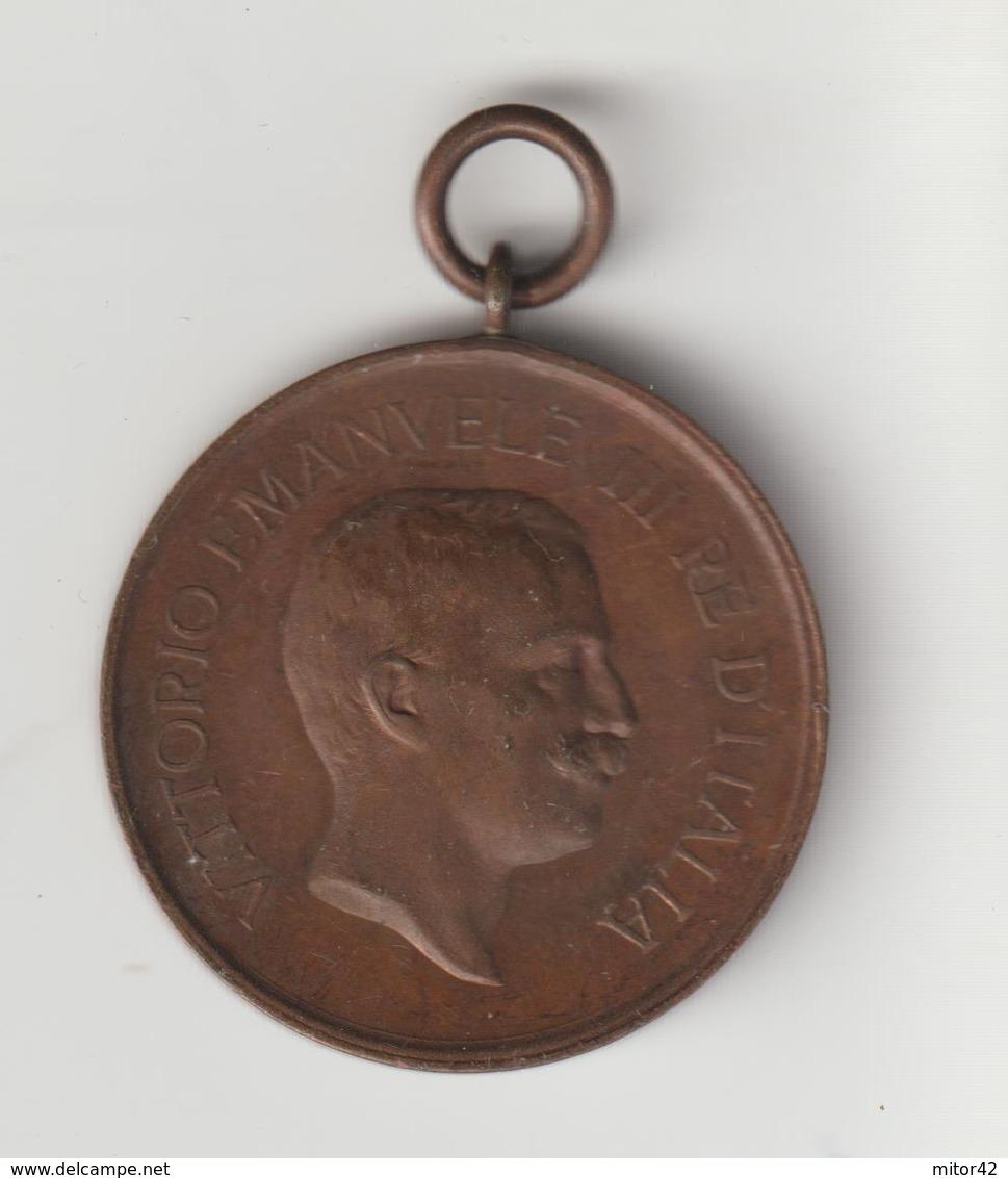 47-Medaglia Guerra 1915-18-Gare Di Tiro A Segno Tra Caporali E Soldati - Italia