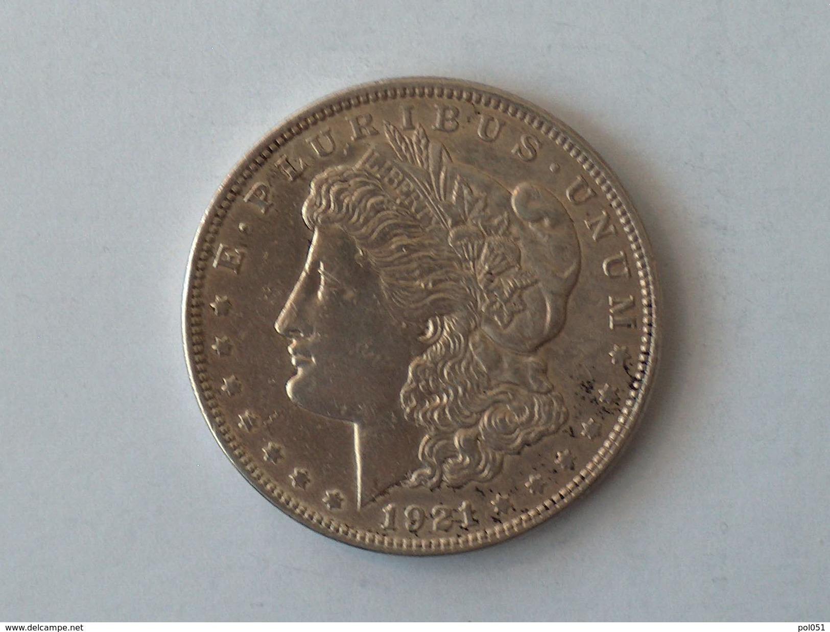 Etats-Unis, United States, USA - One 1 Dollar 1921 P Morgan - Silver, Argent - 1878-1921: Morgan