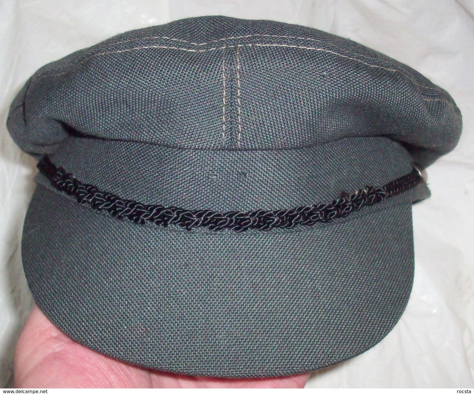 "Cap ""Závodní Stráže"" - Factory Volunteer Corps Of The People's Militia Of Czechoslovakia (1986 Dated) - Hoeden"