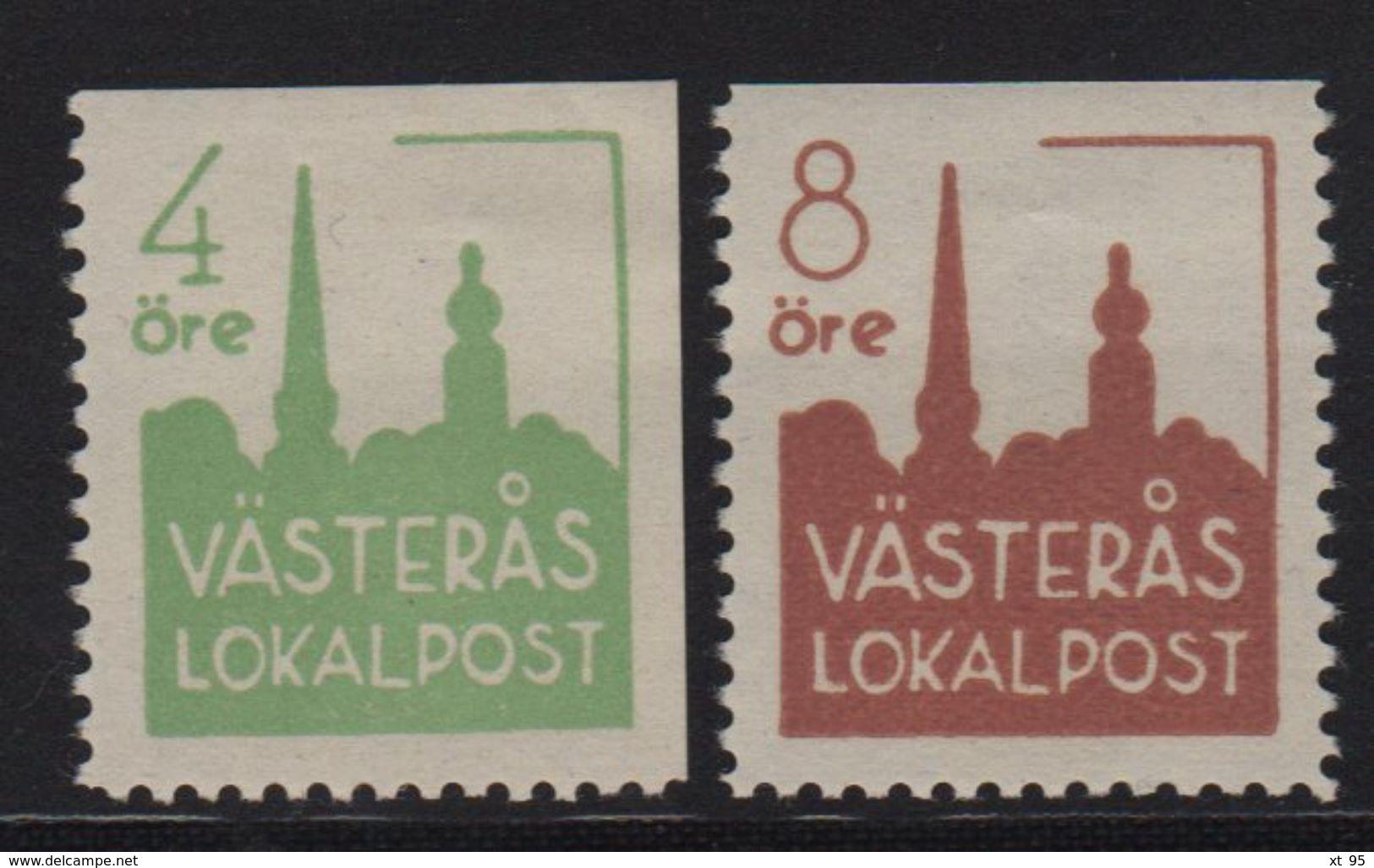 Norvege - Poste Locale - Vasteras - Norwegen