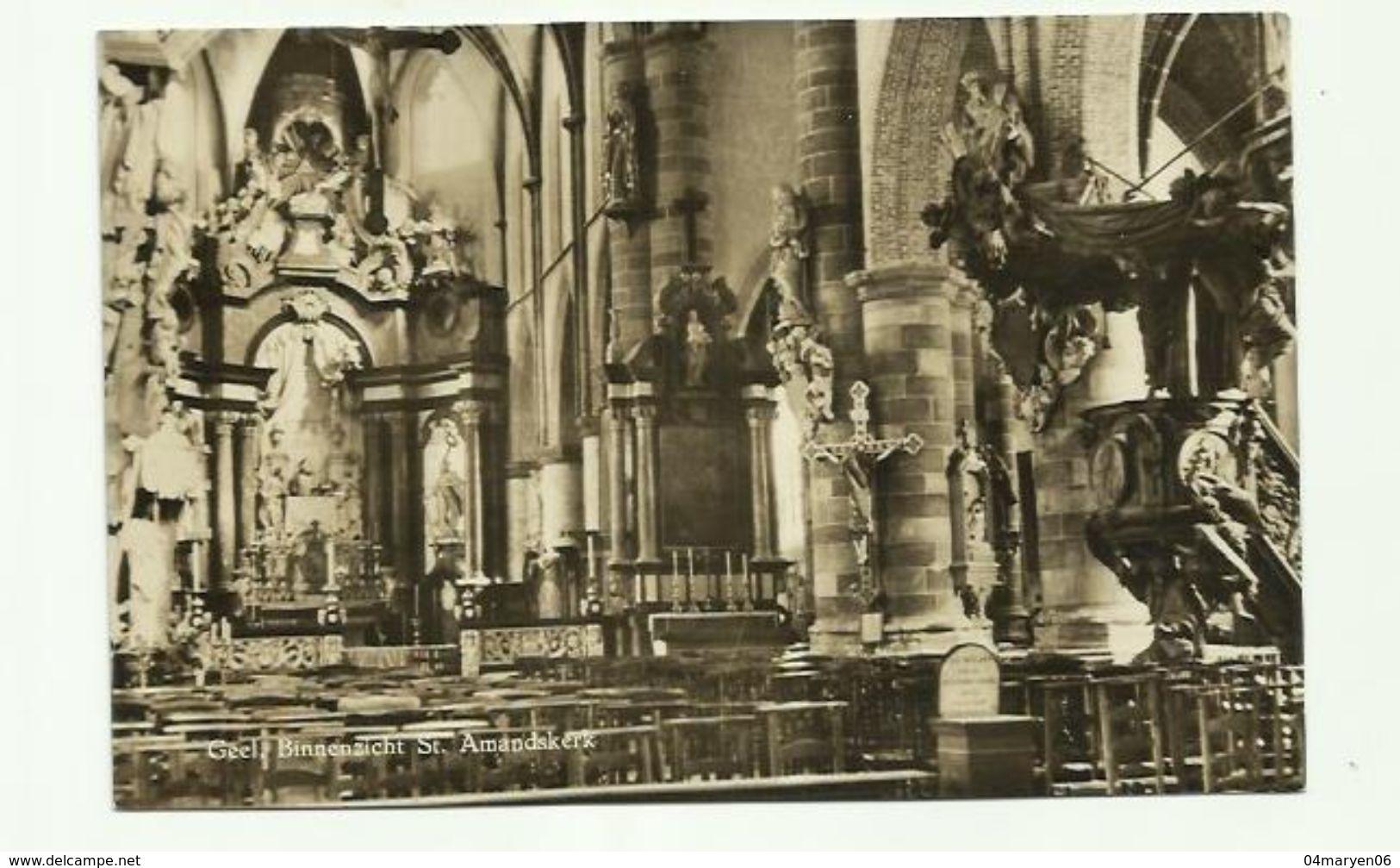 -  **  GEEL       ** -- Binnenzicht St.Amandskerk -- - Geel