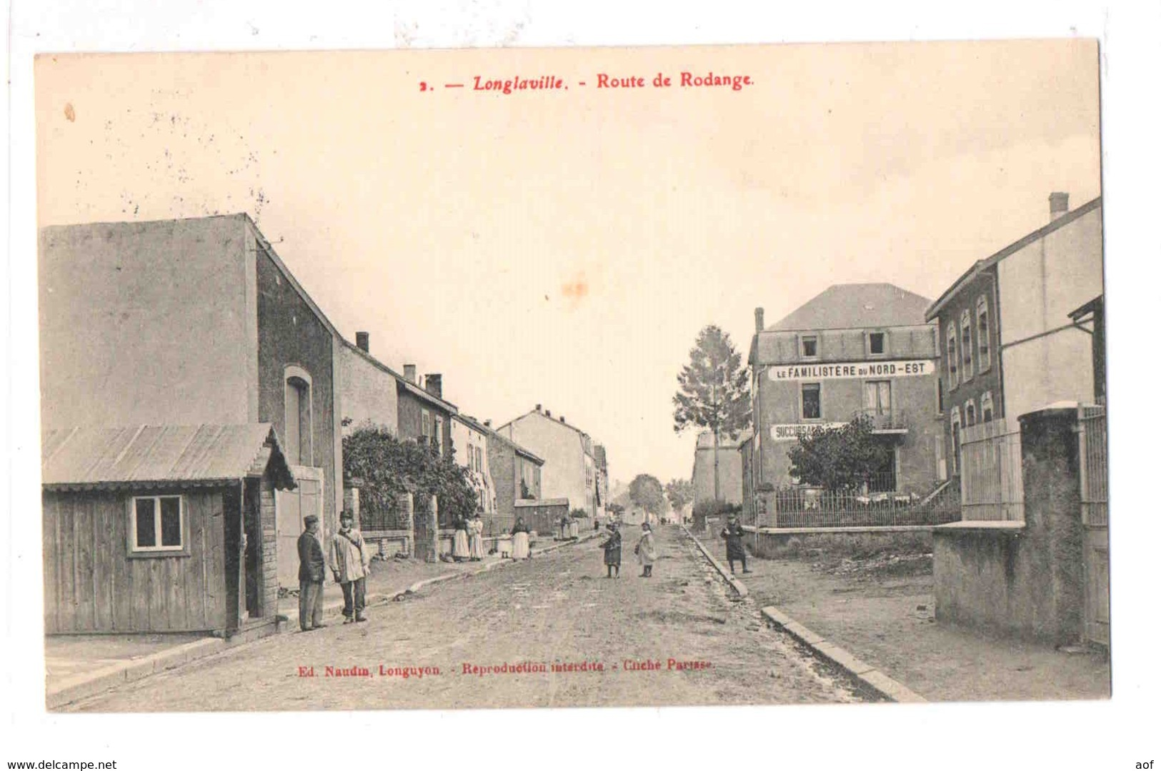 54-2382 LONGLAVILLE - Francia