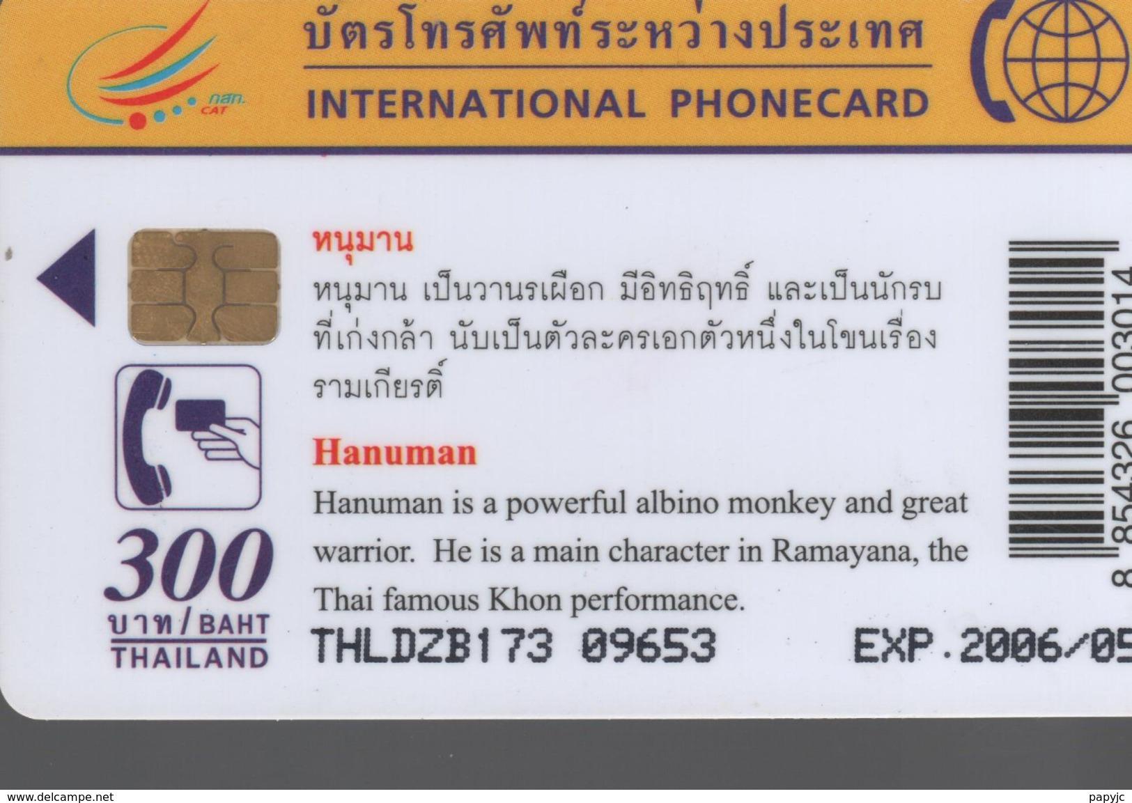 THAILANDE - Hanuman - Thaïlande