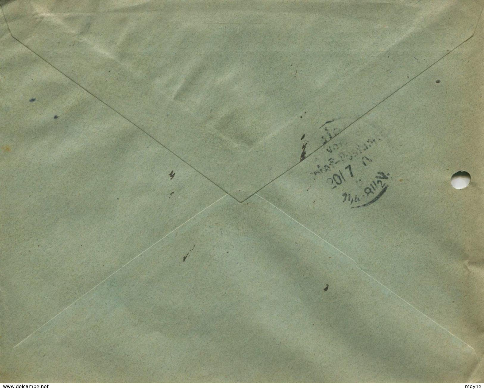 ENV 13  Allemagne - EMPFOHLENER BRIEF- LETTRE RECOMMANDEE   STRIEGAU à  BERLIN   19/07/.1906 - 3 Timbres 10 D.R - Rouges - Deutschland