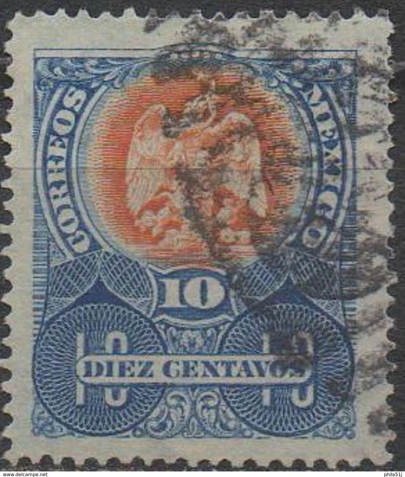 MEXIQUE  N°194__OBL VOIR SCAN - Messico
