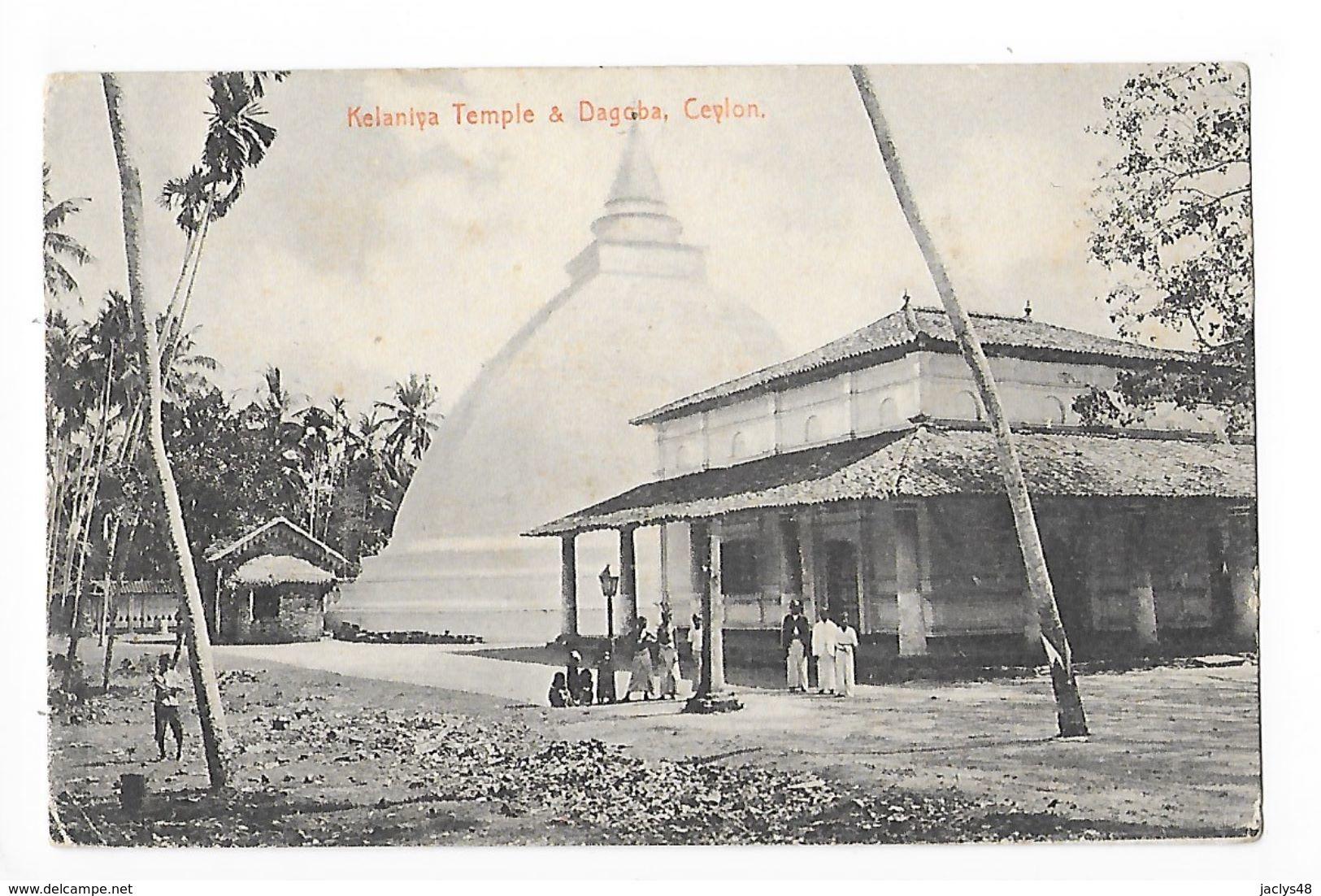 CEYLAN  - Kelaniya Temple & Dagoba -    - L 1 - Cartes Postales