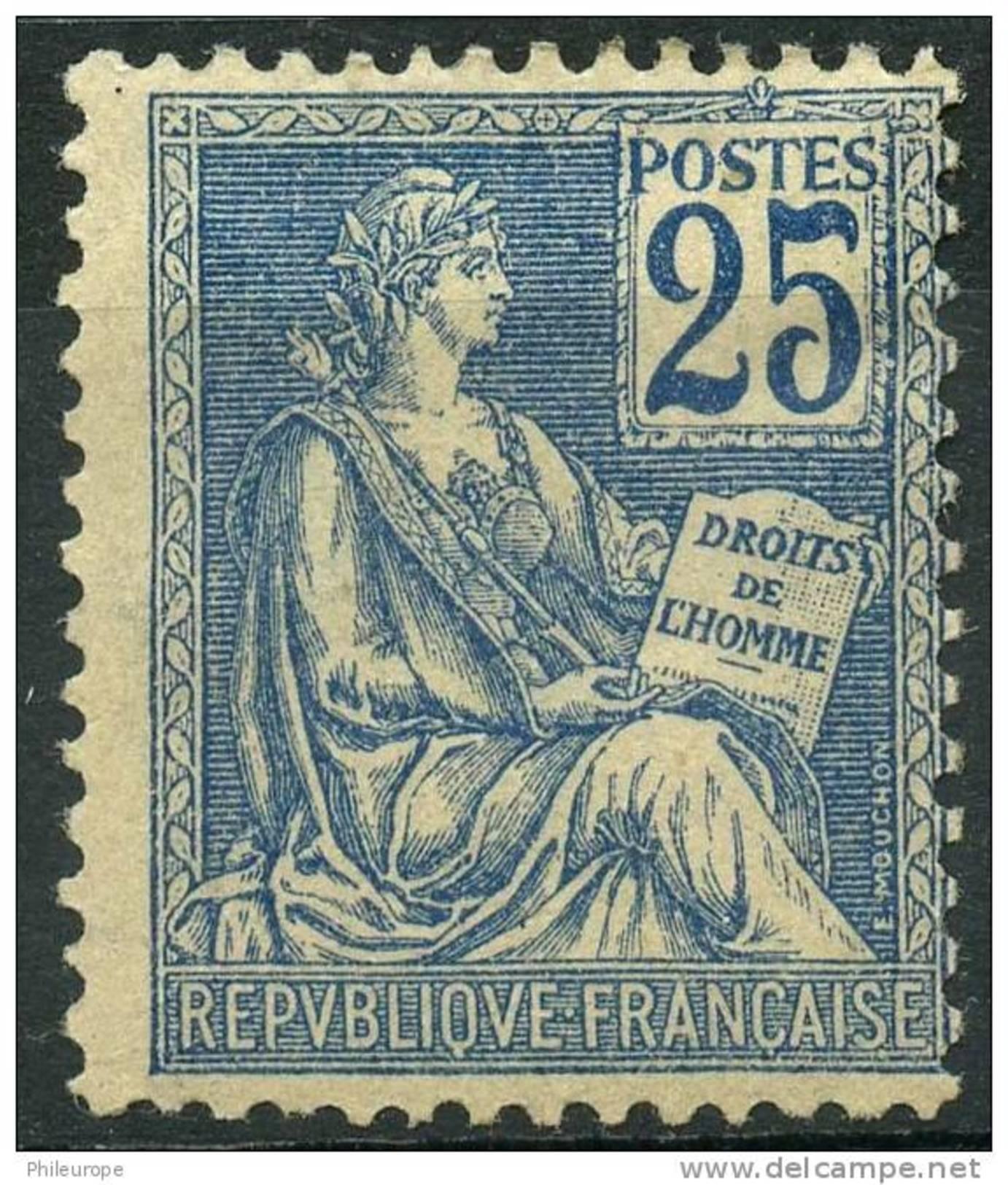 France (1900) N 118 * (charniere) - Ungebraucht