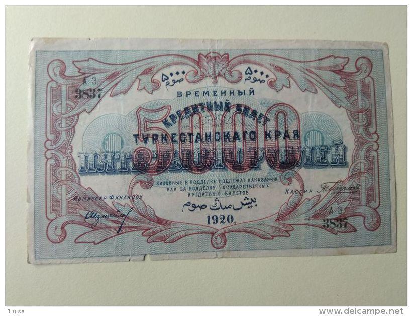 Russia 1920 5000 - Rusland
