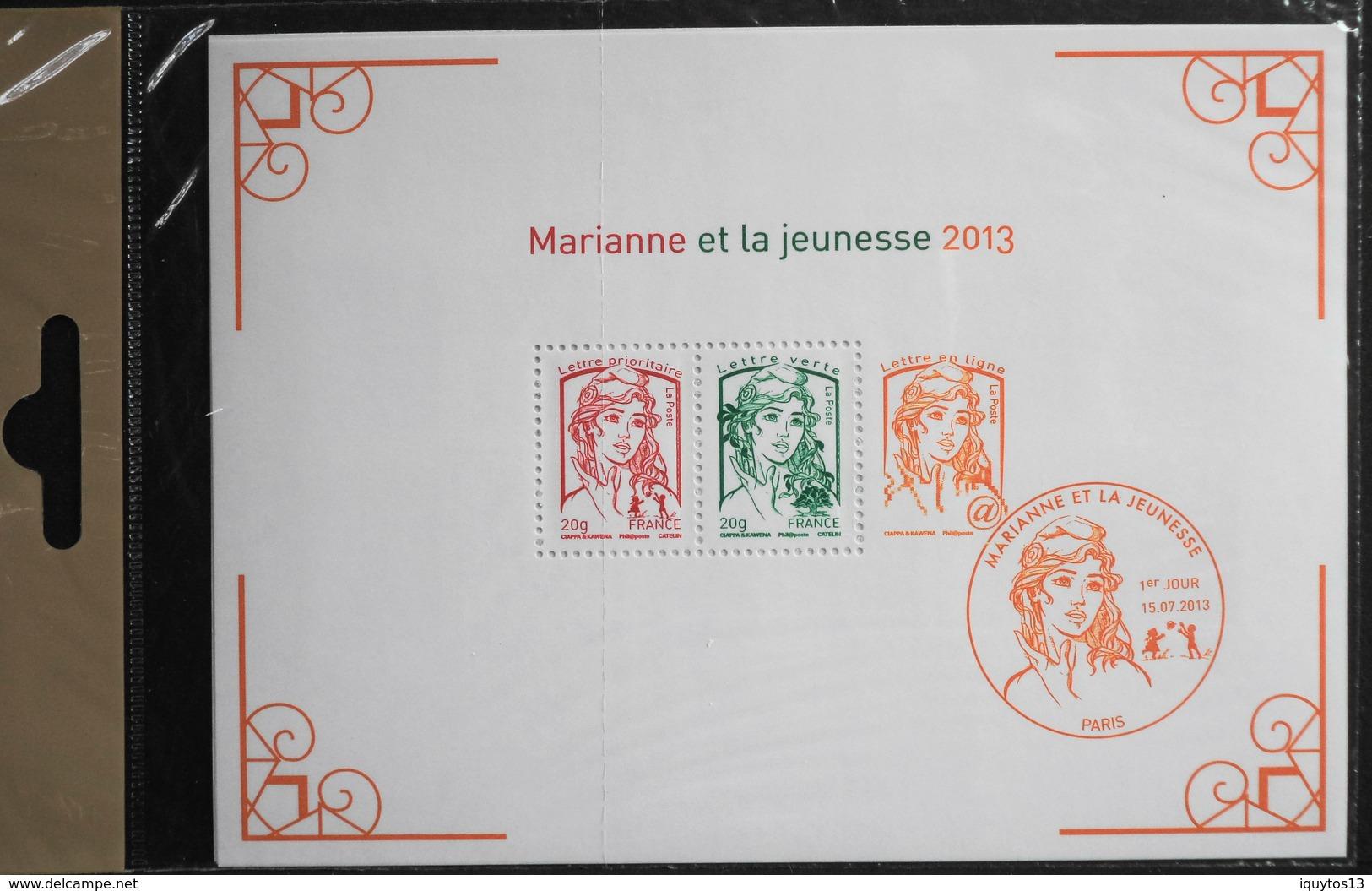 FRANCE 2013 - Les N° 4781 à 4792 - 12 TIMBRES NEUFS** La Ve République Au Fil Du Timbre - F4781 Et BF. 133 -Sous Blister - France