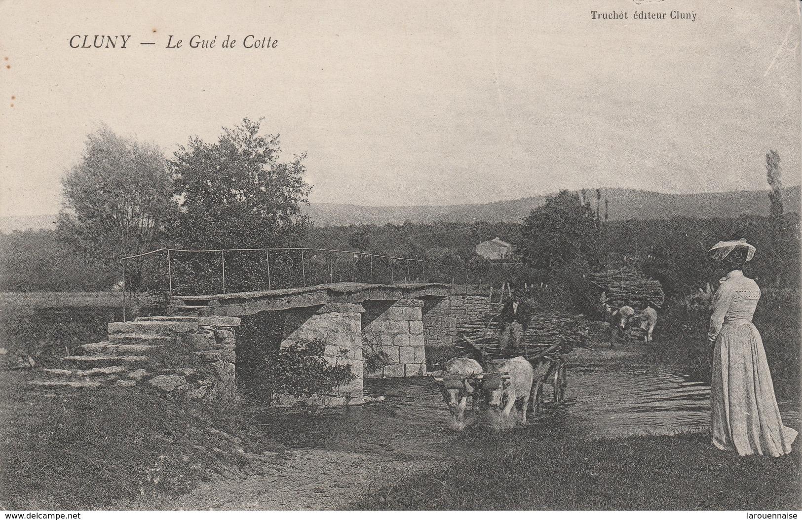 71 - CLUNY - Le Gué De Cotte - Cluny