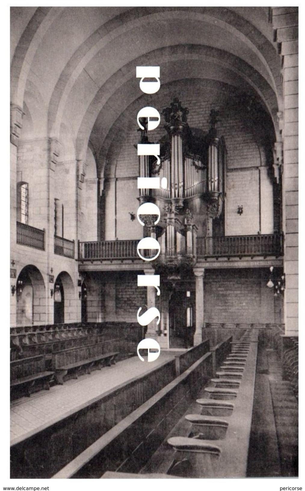 123  Rodez  Grand Séminaire   La Nef Et Les Grandes Orgues - Rodez