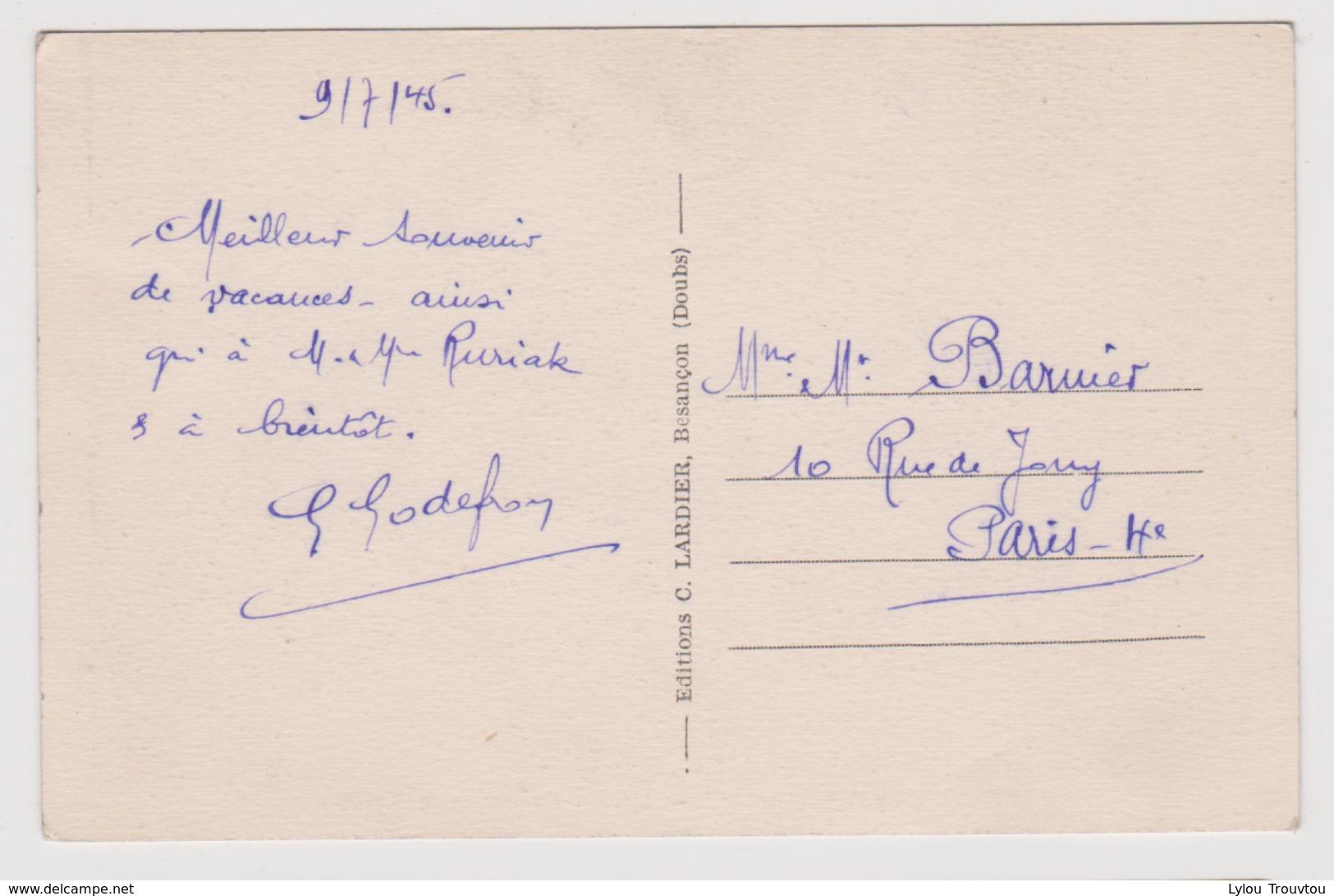 SAUVAGNEY - Maison Commune Et Eglise / Environs Moncley Chambornay Les Pins Gezier Etuz Auxons Dessus Dessous Geneuille - Frankrijk