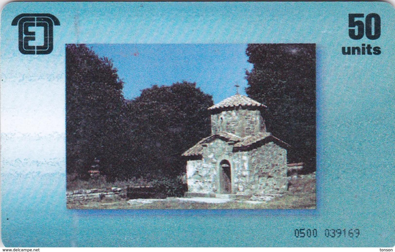 Georgia, GE-PEL-0001, Church, 2 Scans. - Géorgie