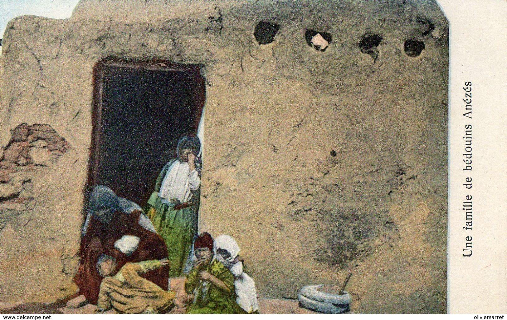Afriquefamille De Bédouins Anézés - Cartes Postales