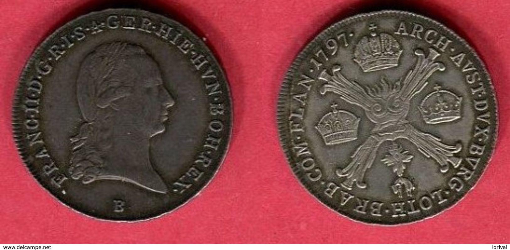 § FRANCOIS II 1/4 THALER    (KM 203  ) TTB 118 - [ 2] 1795-1814 : Protectorat Français & Napoléonien