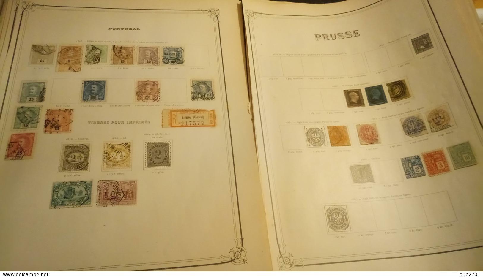 F0652 GROS LOT FEUILLES MONDE A TRIER COTE++ DÉPART 10€ - Stamps