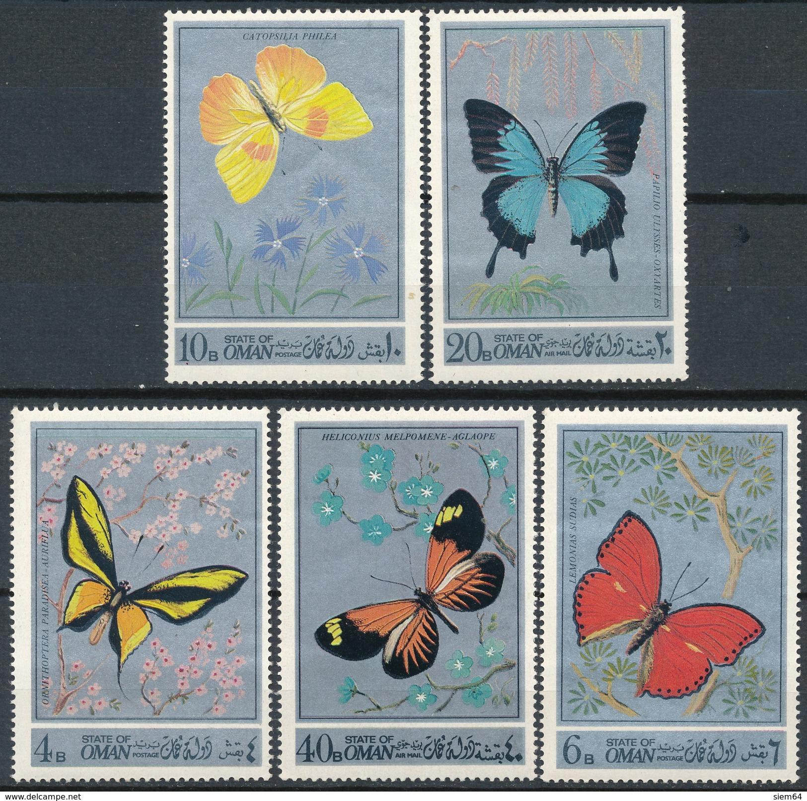 Oman  Vlinders - Vlinders