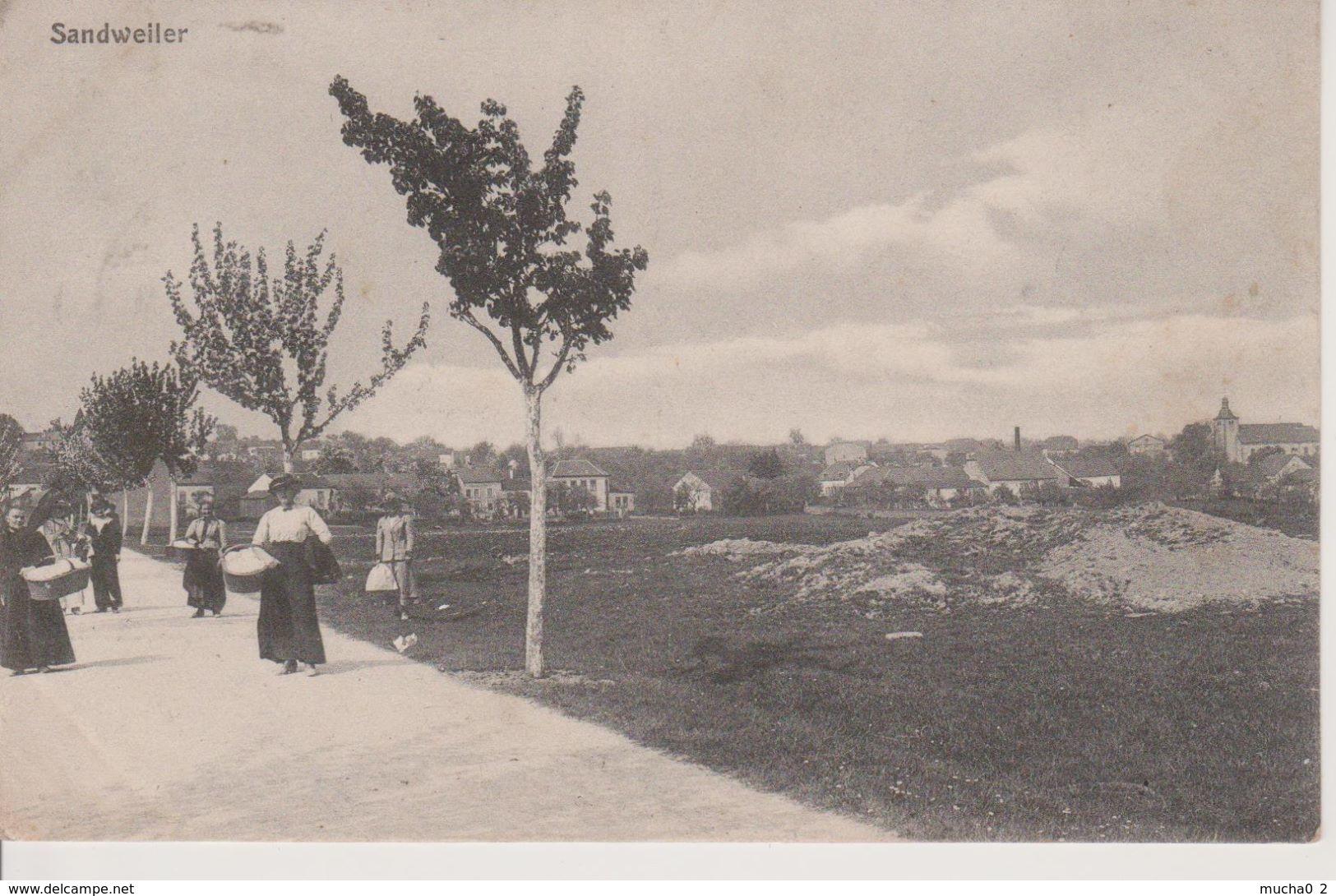 LUXEMBOURG - SANDWEILER - BELLE CARTE - Postcards