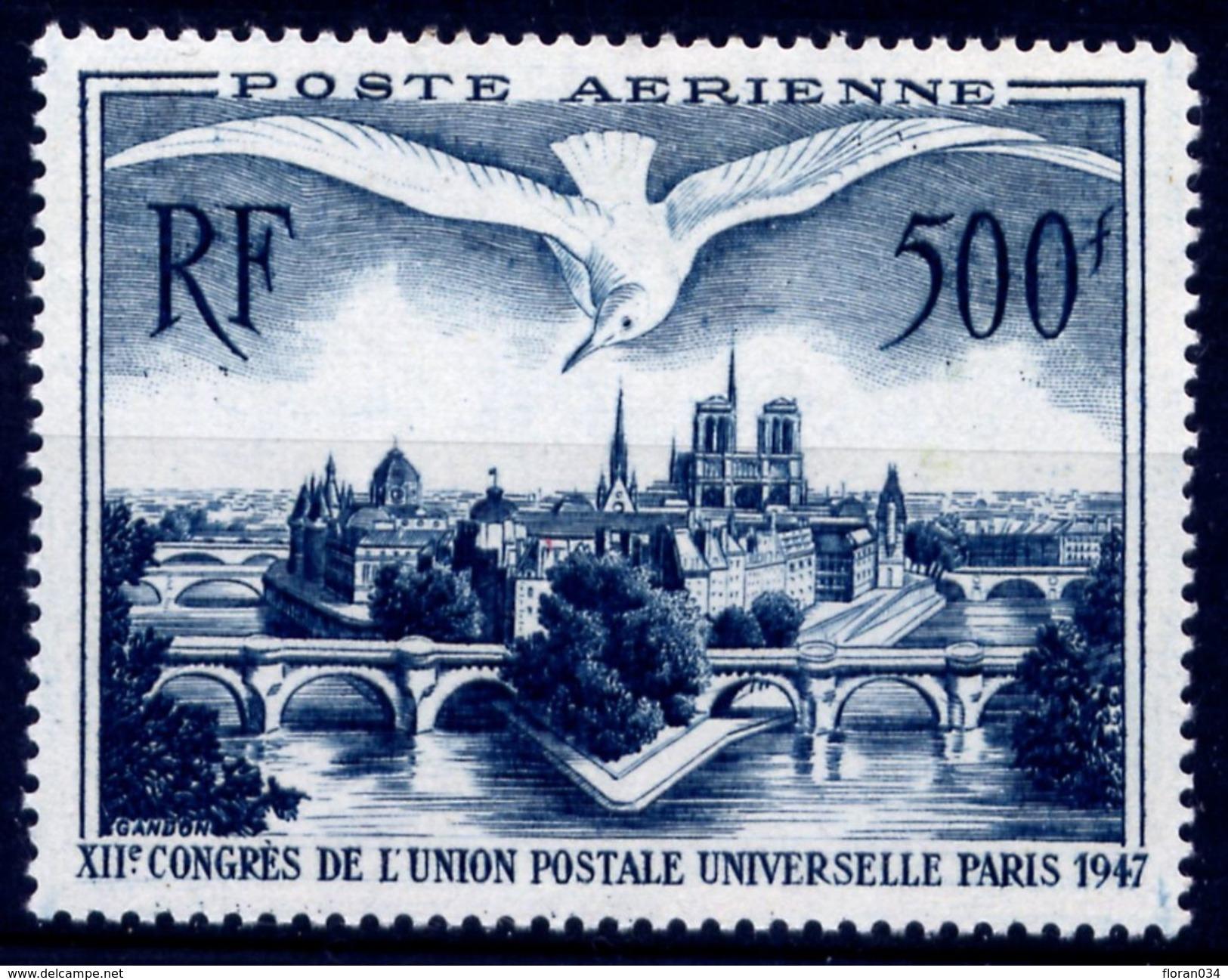 France PA N° 20 Neuf **   Cote 60 Euros - LUXE - Poste Aérienne