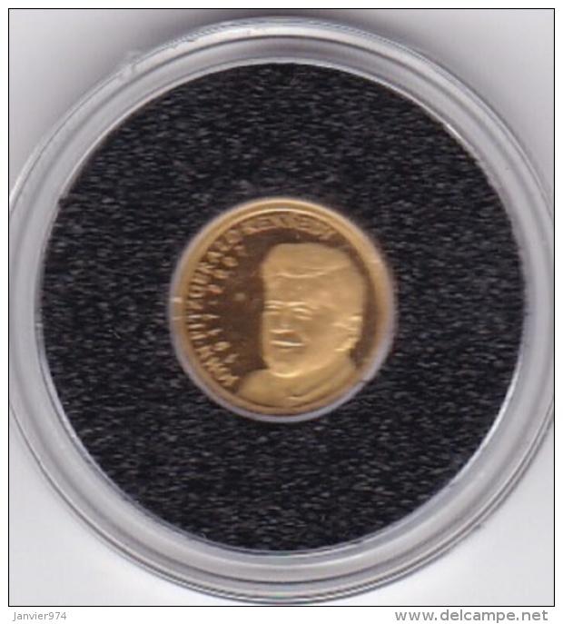Palau . 1 Dollar 2007 Gold , OR. John F. Kennedy - Palau