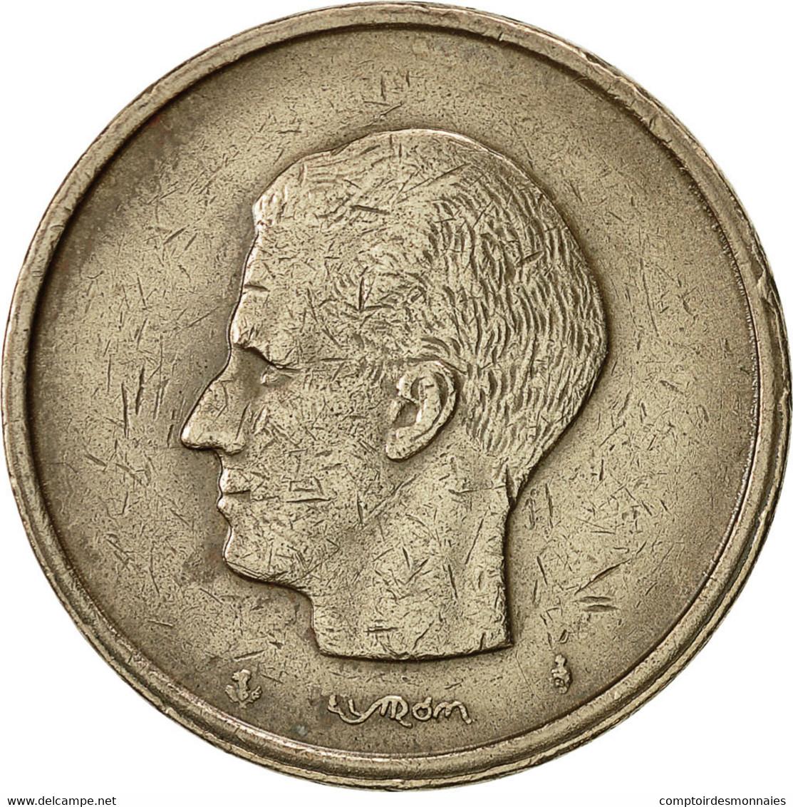 Belgique, 20 Francs, 20 Frank, 1981, TTB, Nickel-Bronze, KM:159 - 1951-1993: Baudouin I