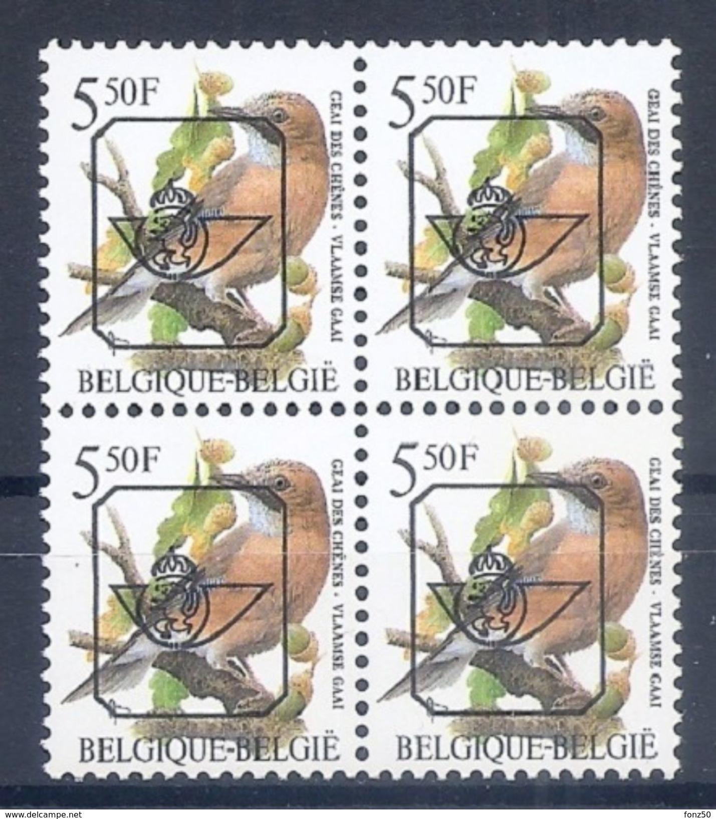BELGIE * Buzin  PRE * Nr 827 B.P6a * Postfris Xx * - 1985-.. Oiseaux (Buzin)