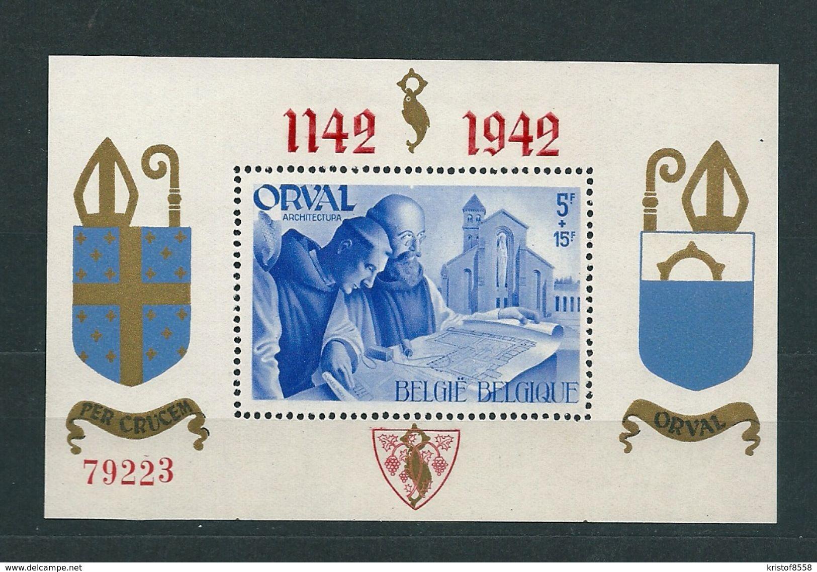[1753] Blok 18 ** Postfris - Blocs 1924-1960