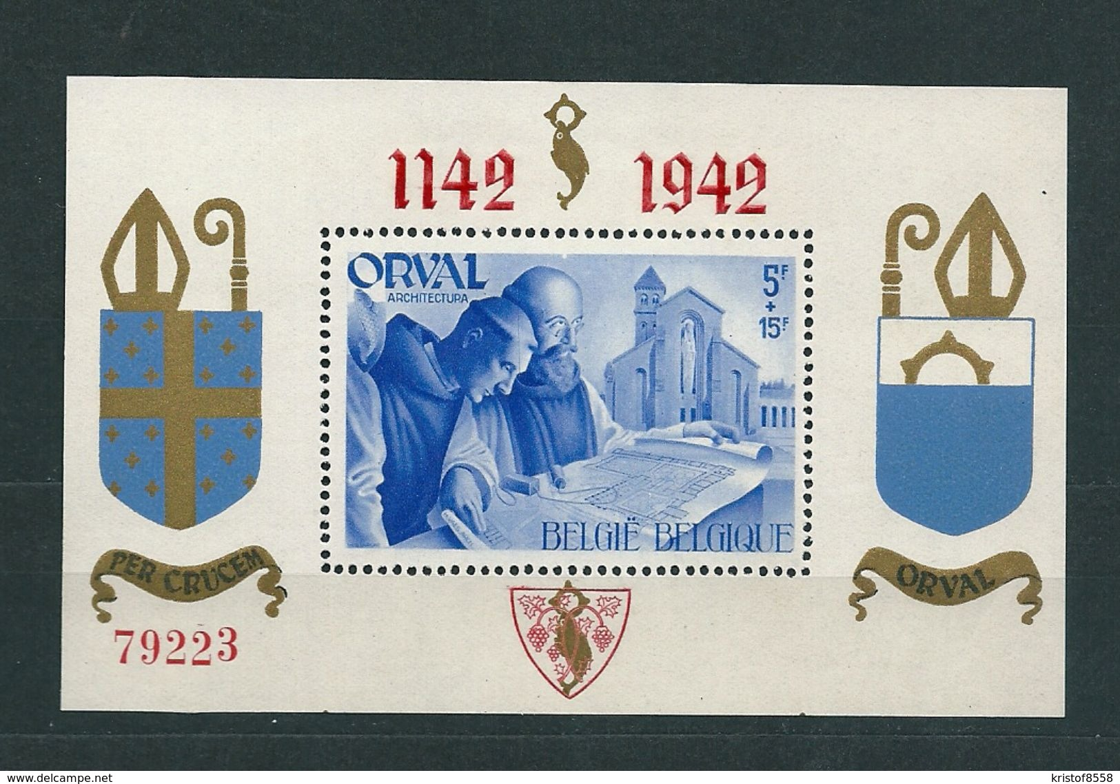 [1753] Blok 18 ** Postfris - Blocks & Sheetlets 1924-1960