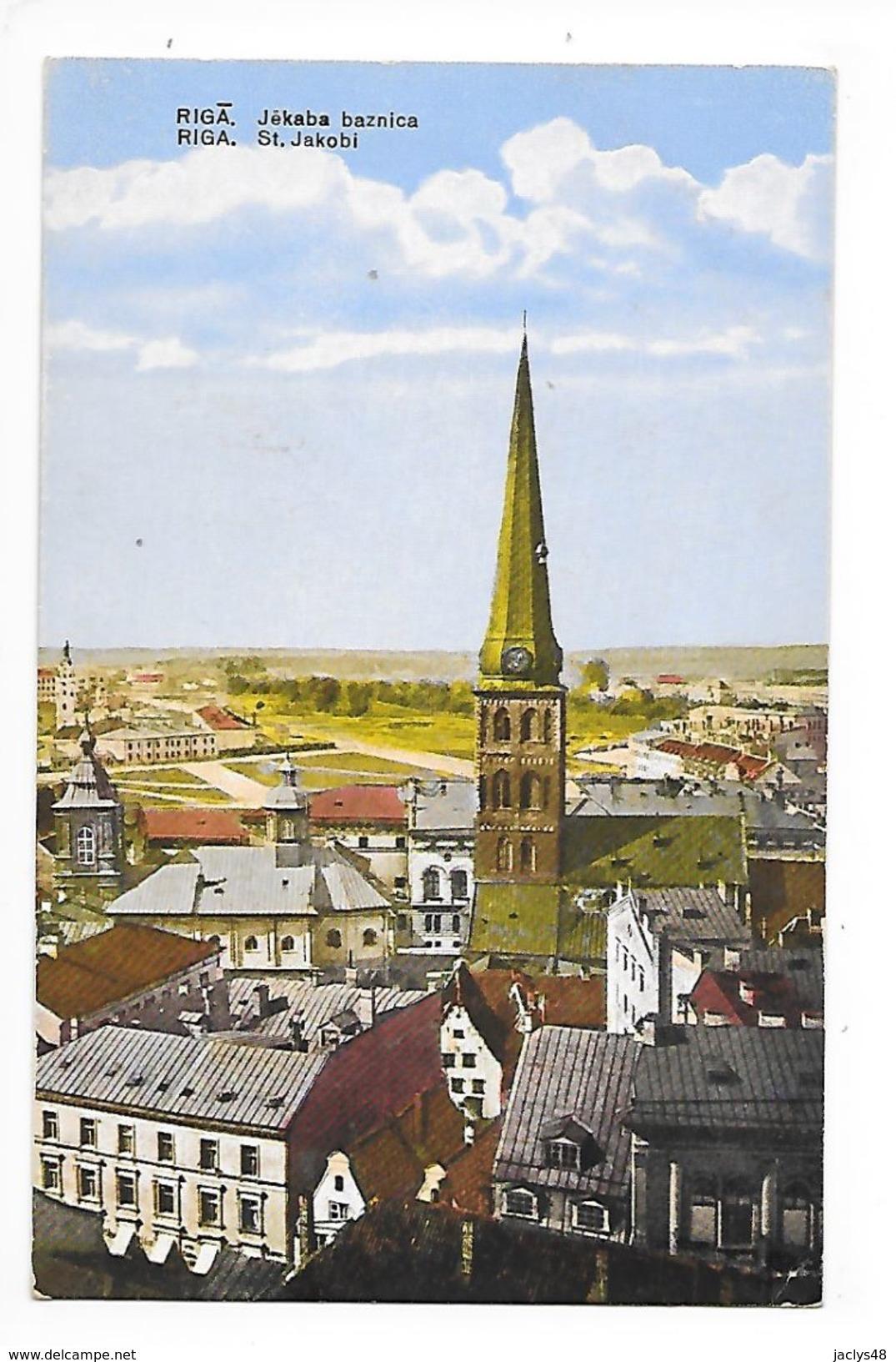 LETTONIE  -  RIGA , St Jakobi -   - L 1 - Letonia