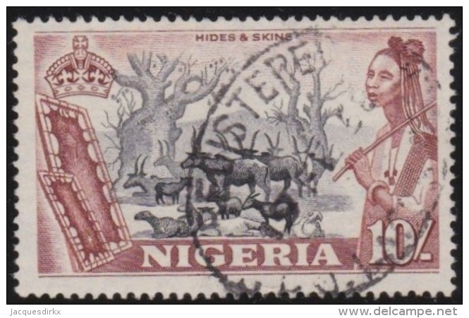 Nigeria          .   SG   .     79     .        O   .   Cancelled   .   /   .   Gebruikt - Nigeria (...-1960)