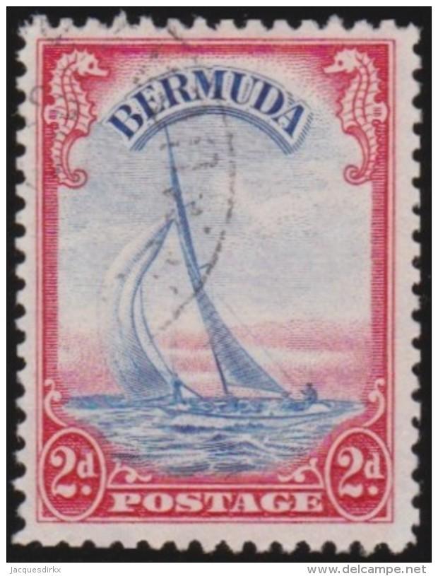 Bermuda      .      SG     .    112a      .        O   .   Cancelled   .   /   .   Gebruikt - Groot-Brittannië (oude Kolonies En Protectoraten)
