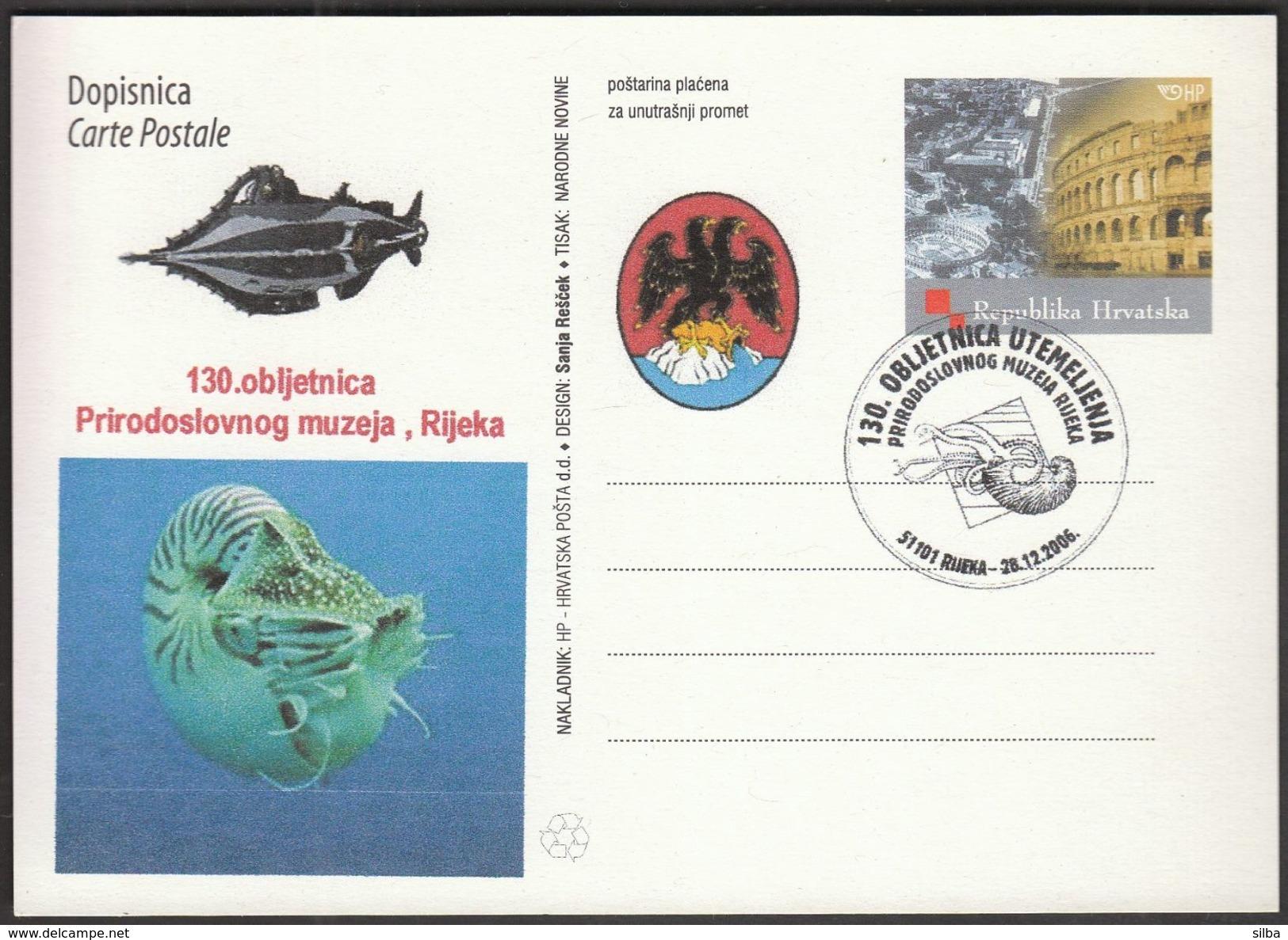 Croatia Rijeka 2006 / Natural History Museum / Sea Life - Croatie