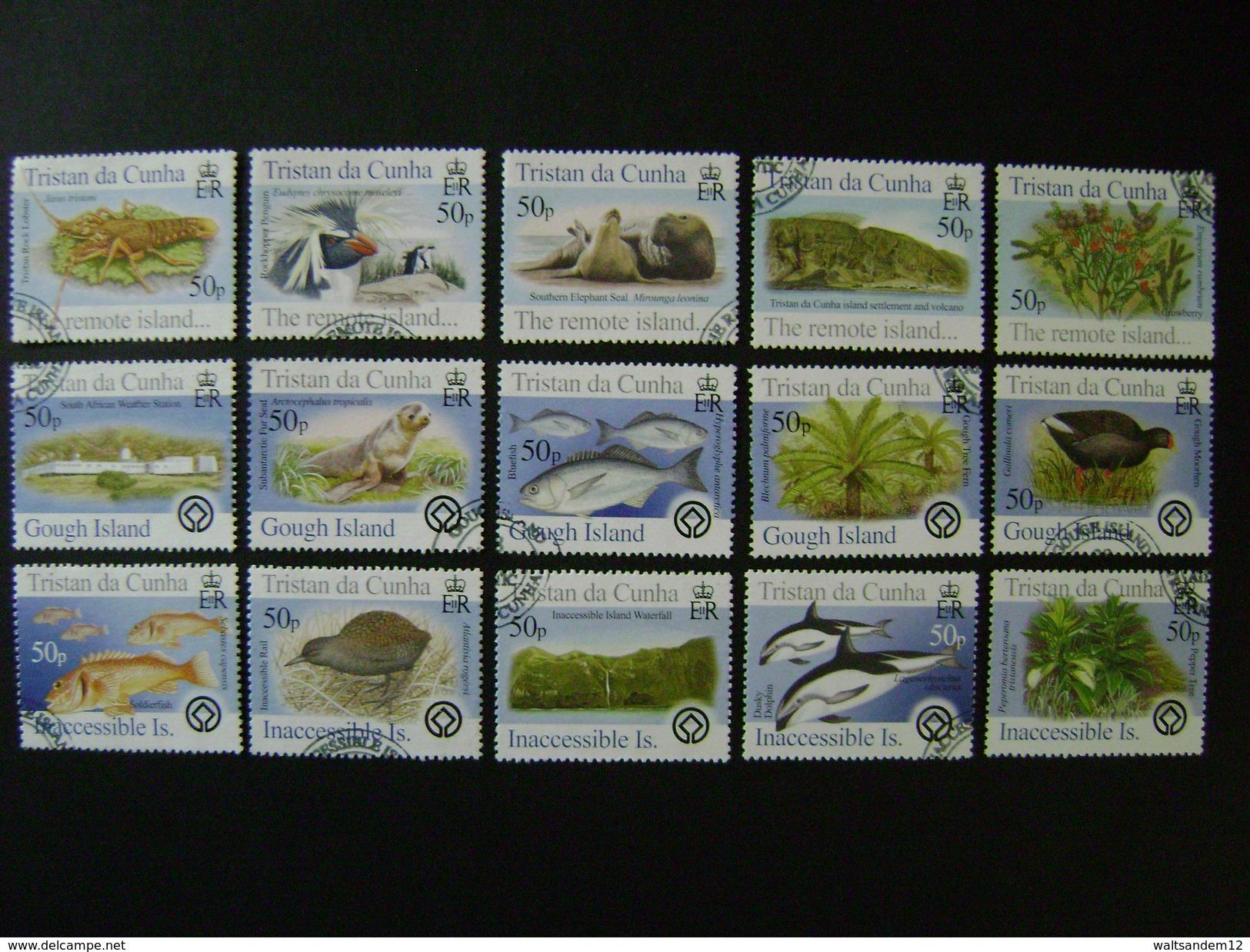 Tristan Da Cunha 2005 Commemorative Issues - Used - Tristan Da Cunha