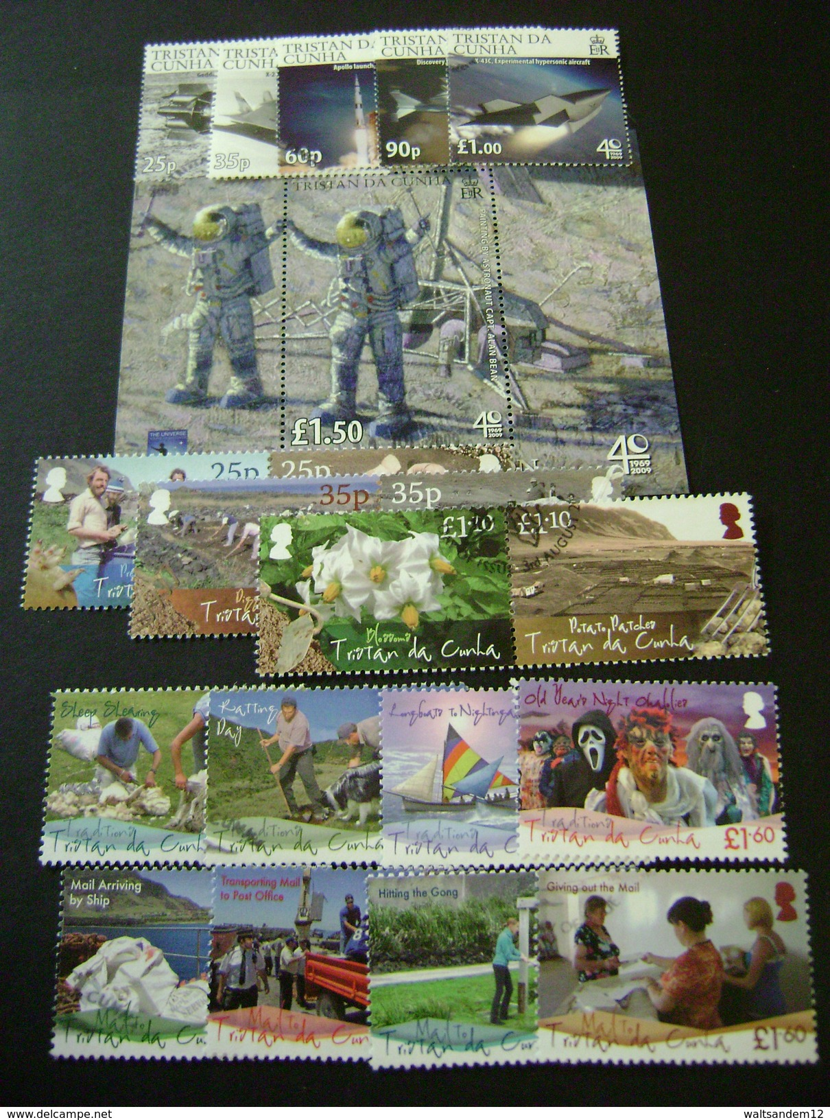 Tristan Da Cunha 2009 Commemorative Issues - Used - Tristan Da Cunha
