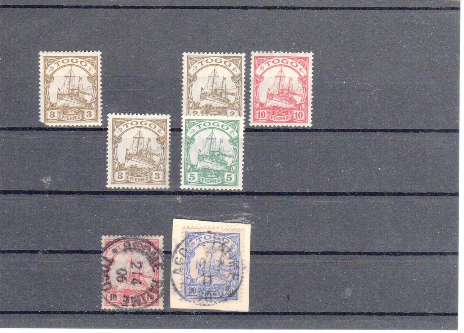 Deutsches Reich Kolonien Togo * Erstfalz    (  N  9460  ) - Colonie: Togo