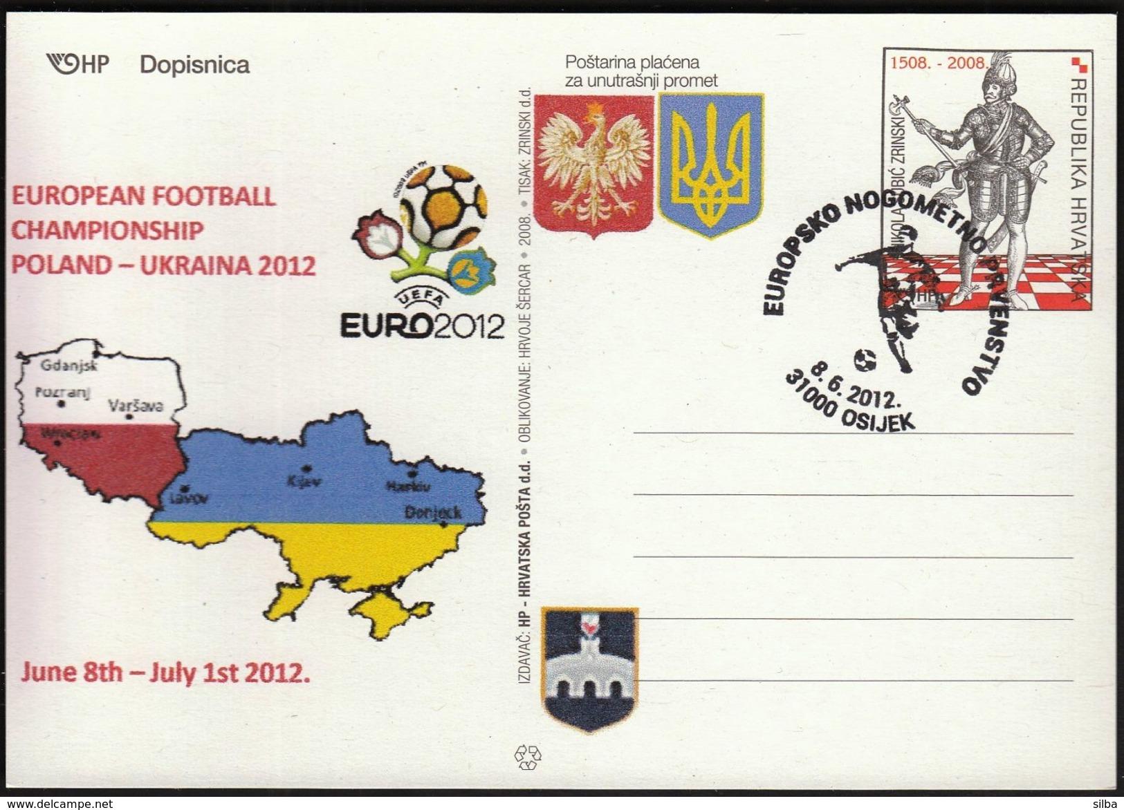 Croatia Osijek 2012 / Soccer Football / European Championship EURO 2012 Poland - Ukraine - Eurocopa (UEFA)