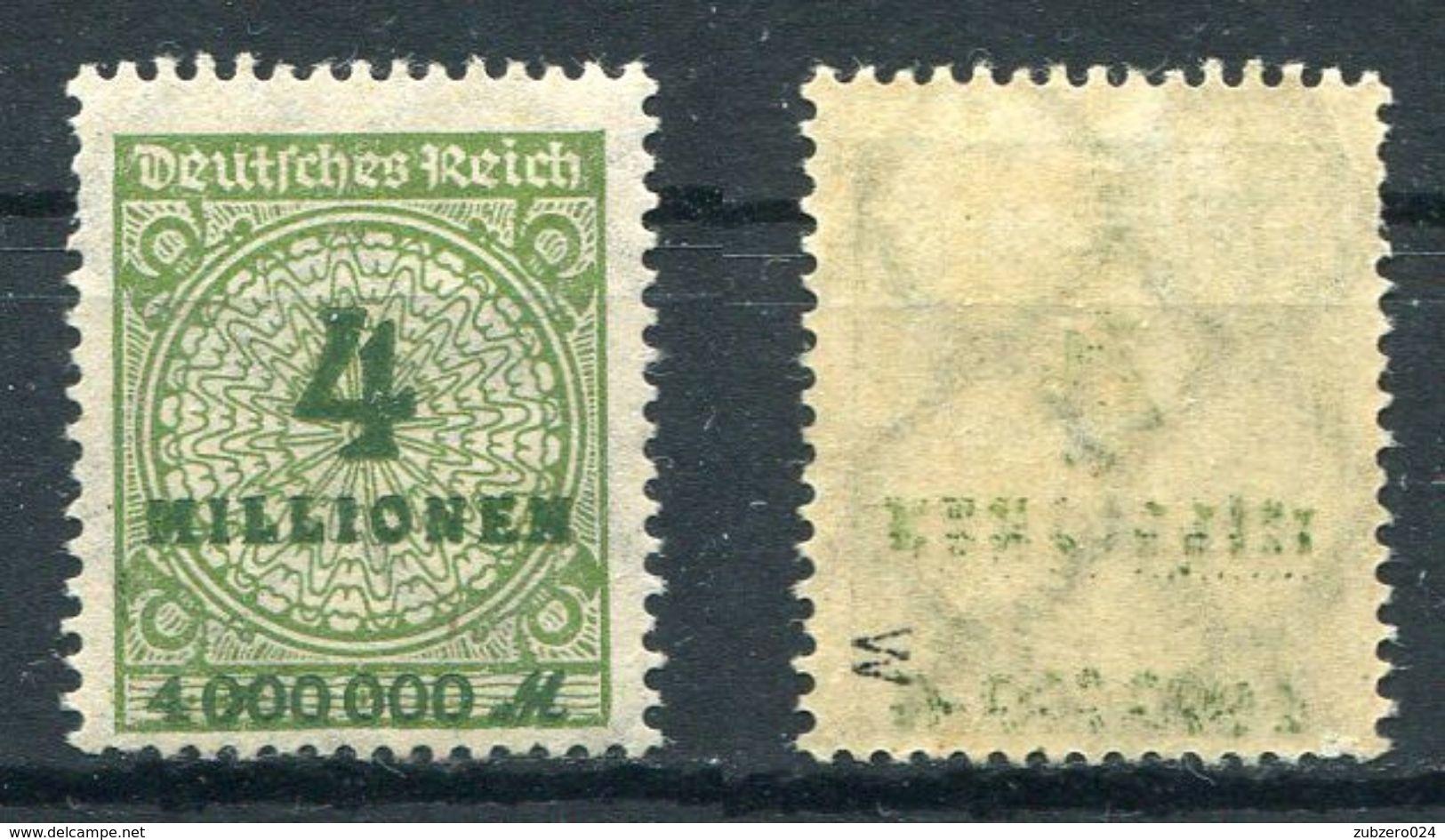 D. Reich Michel-Nr. 316W Postfrisch - Geprüft - Ungebraucht